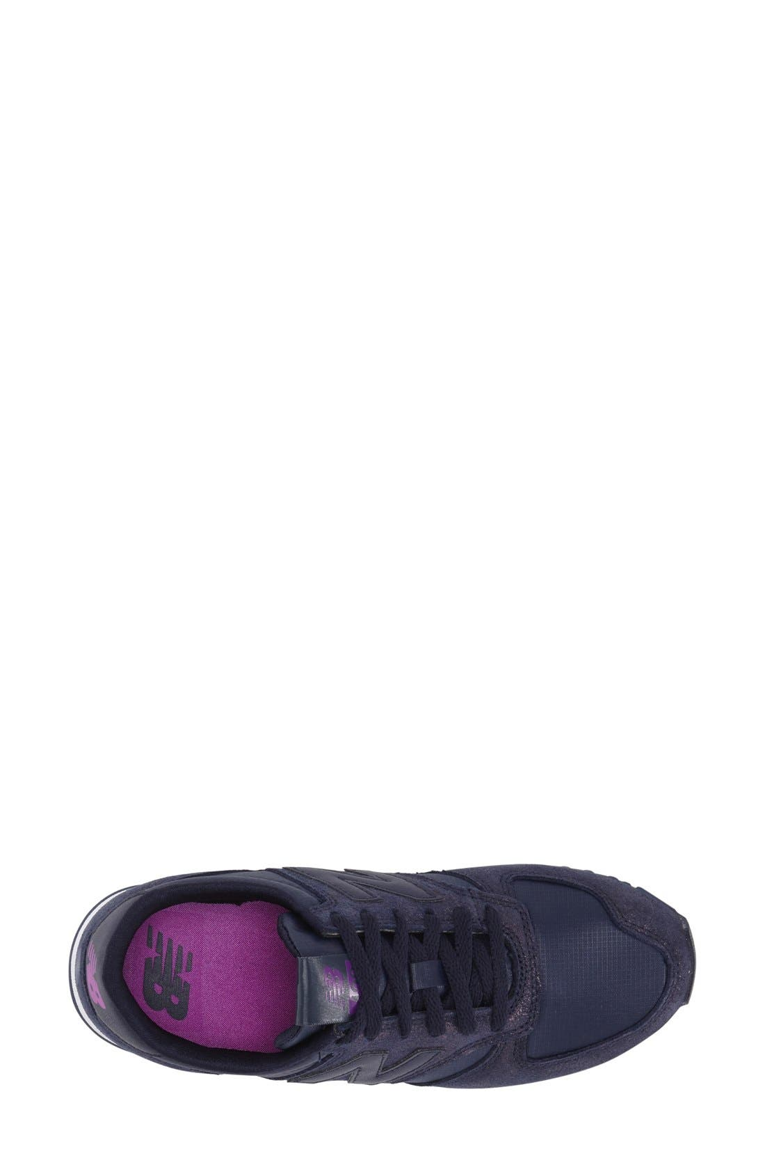 '420' Sneaker,                             Alternate thumbnail 3, color,                             Dark Purple