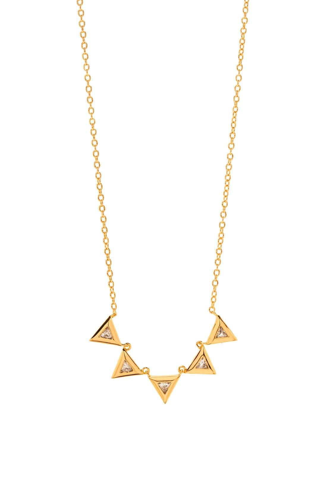 Alternate Image 1 Selected - gorjana 'Vivienne' Pendant Necklace