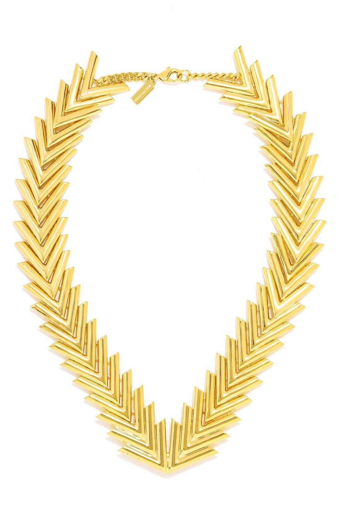 Main Image - BaubleBar 'Poisson' Collar Necklace