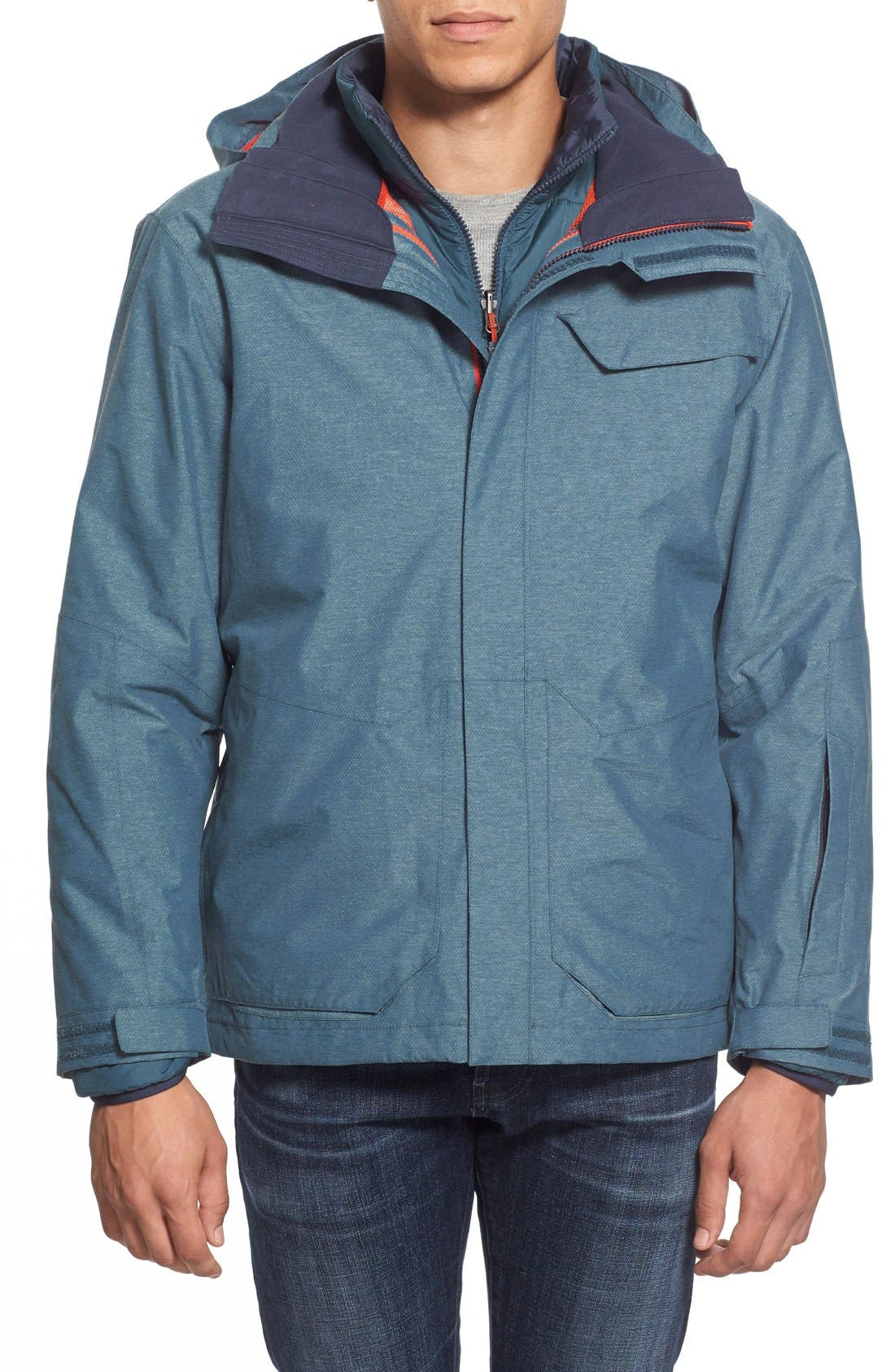 27694a21ef05 ... where to buy the north face marsellus triclimate waterproof 3 in 1  jacket nordstrom 284d4 e64c4