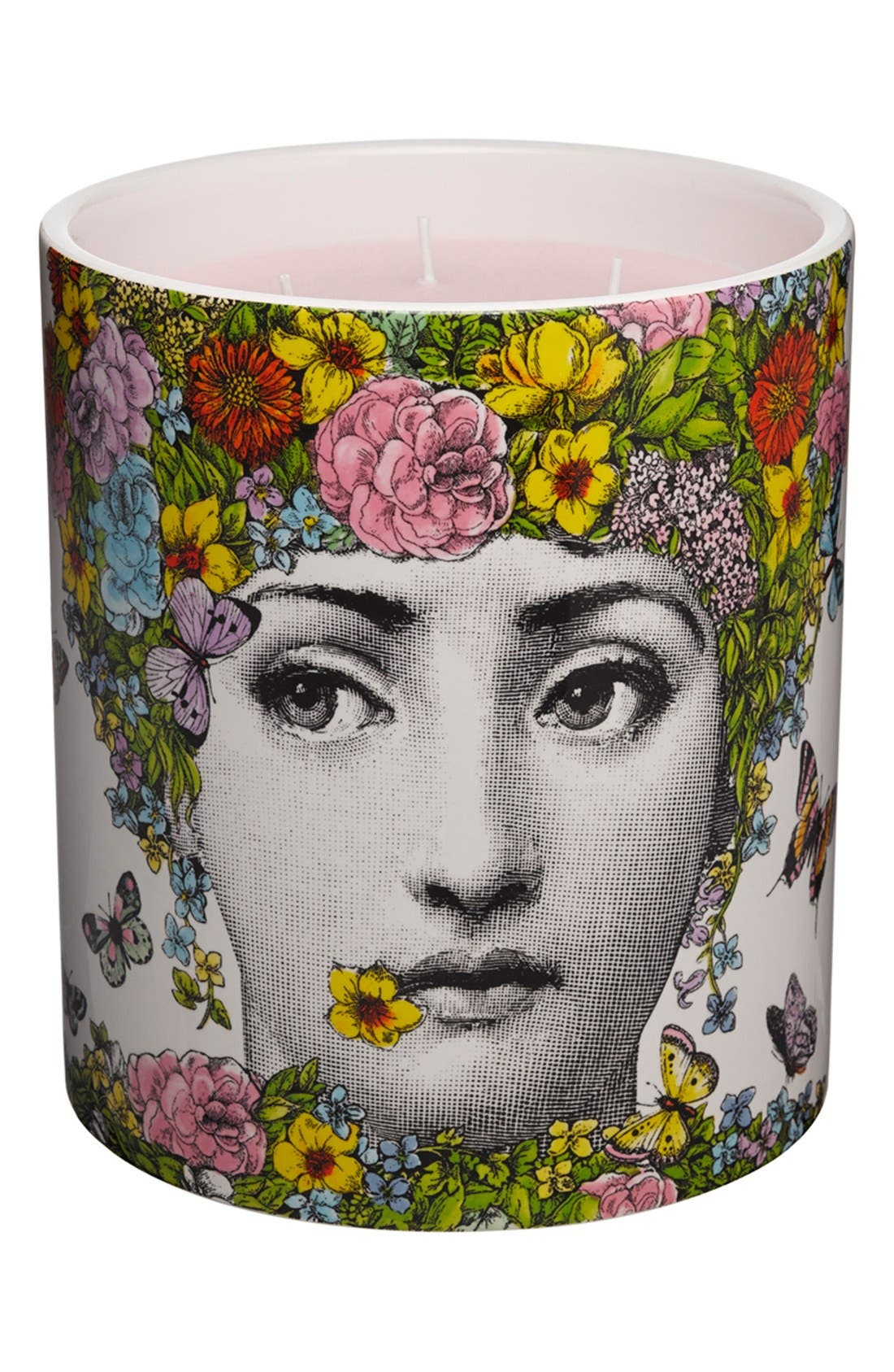 Alternate Image 2  - Fornasetti 'Flora' Large Candle