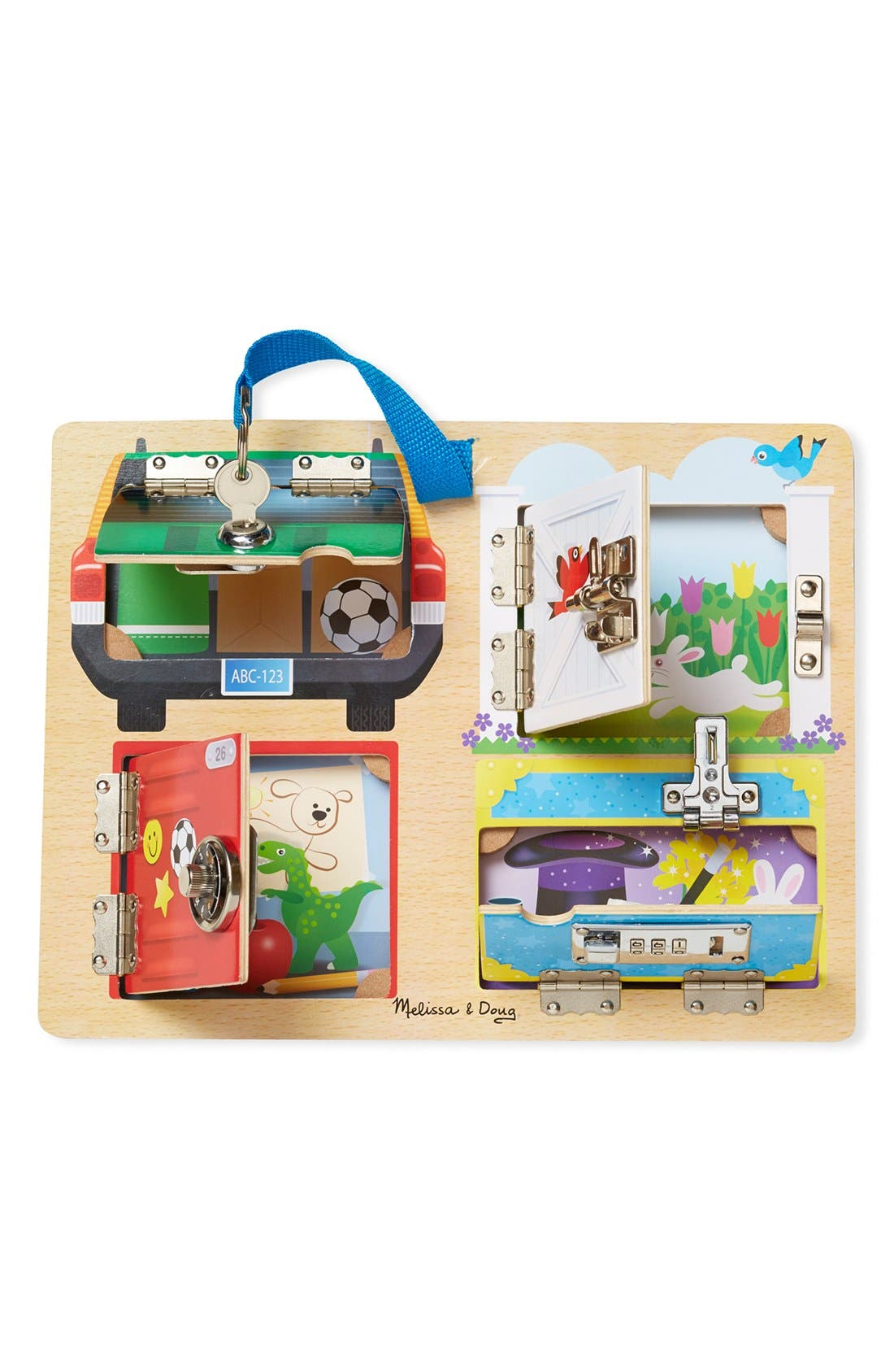 Alternate Image 1 Selected - Melissa & Doug 'Locks & Latches' Activity Board