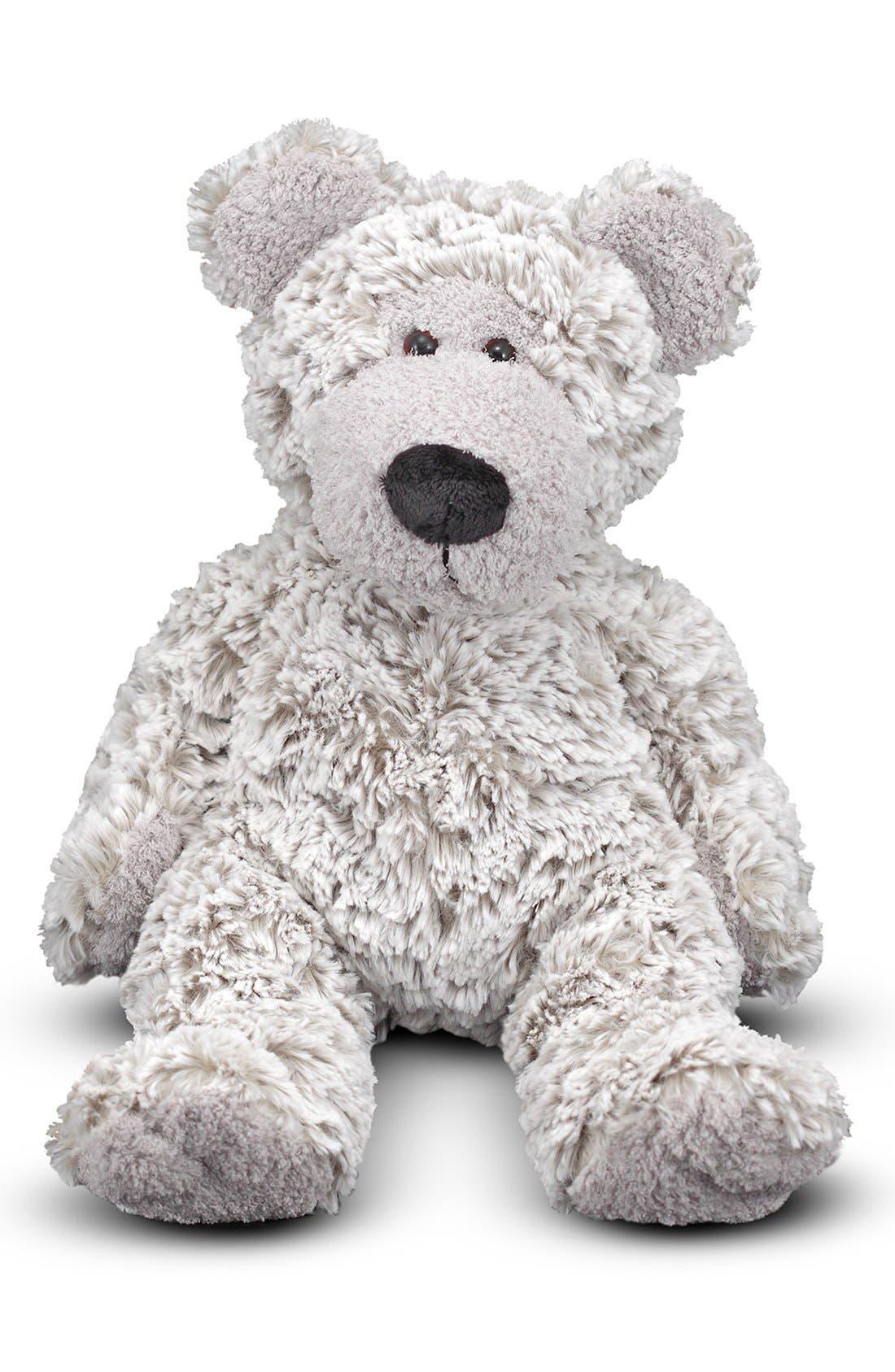 'Greyson' Stuffed Bear,                             Main thumbnail 1, color,                             Grey