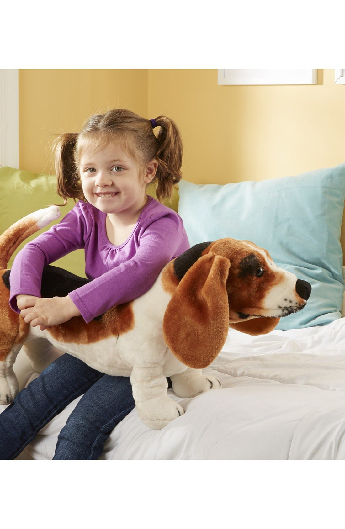 Oversized Basset Hound,                         Main,                         color, Brown