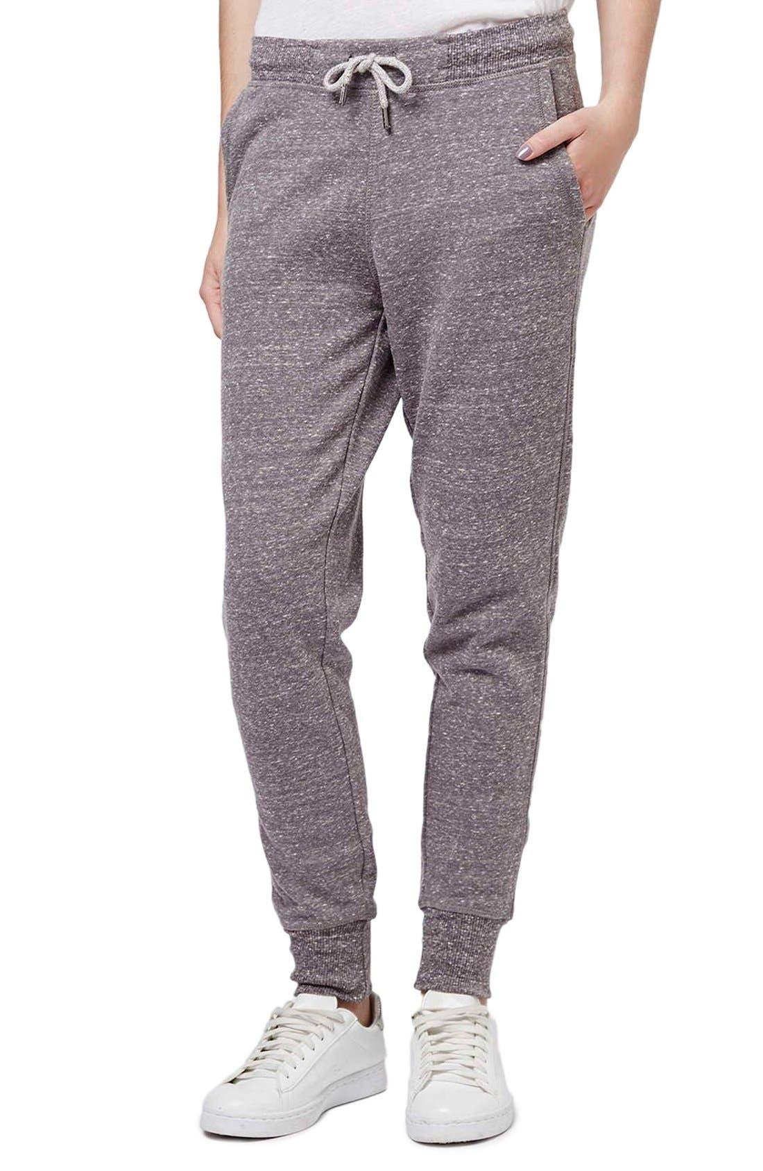 Alternate Image 1 Selected - Topshop Skinny Fit Jogger Pants