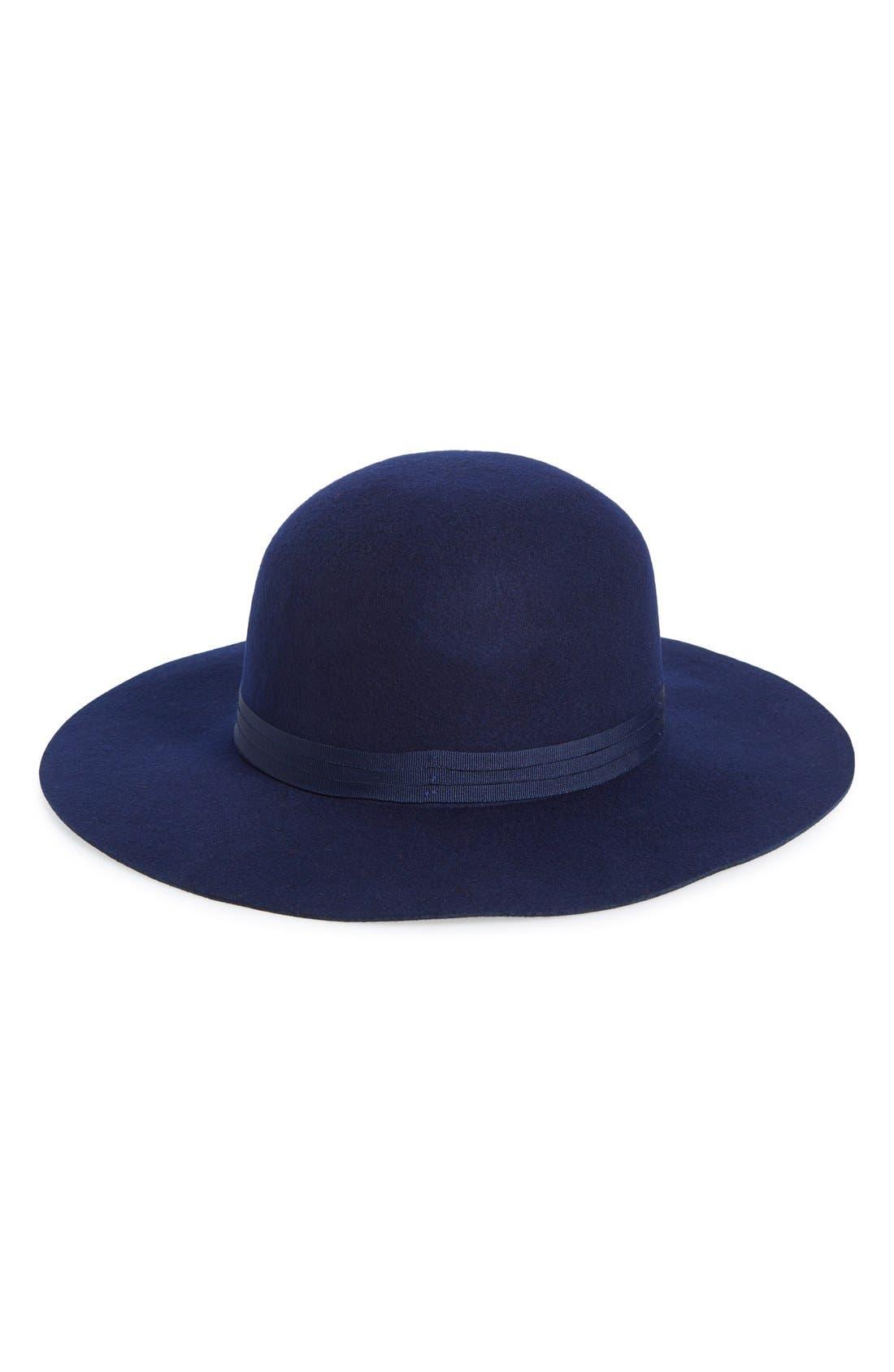 Main Image - Brixton'Magdalena' Wide Brim Wool Felt Hat