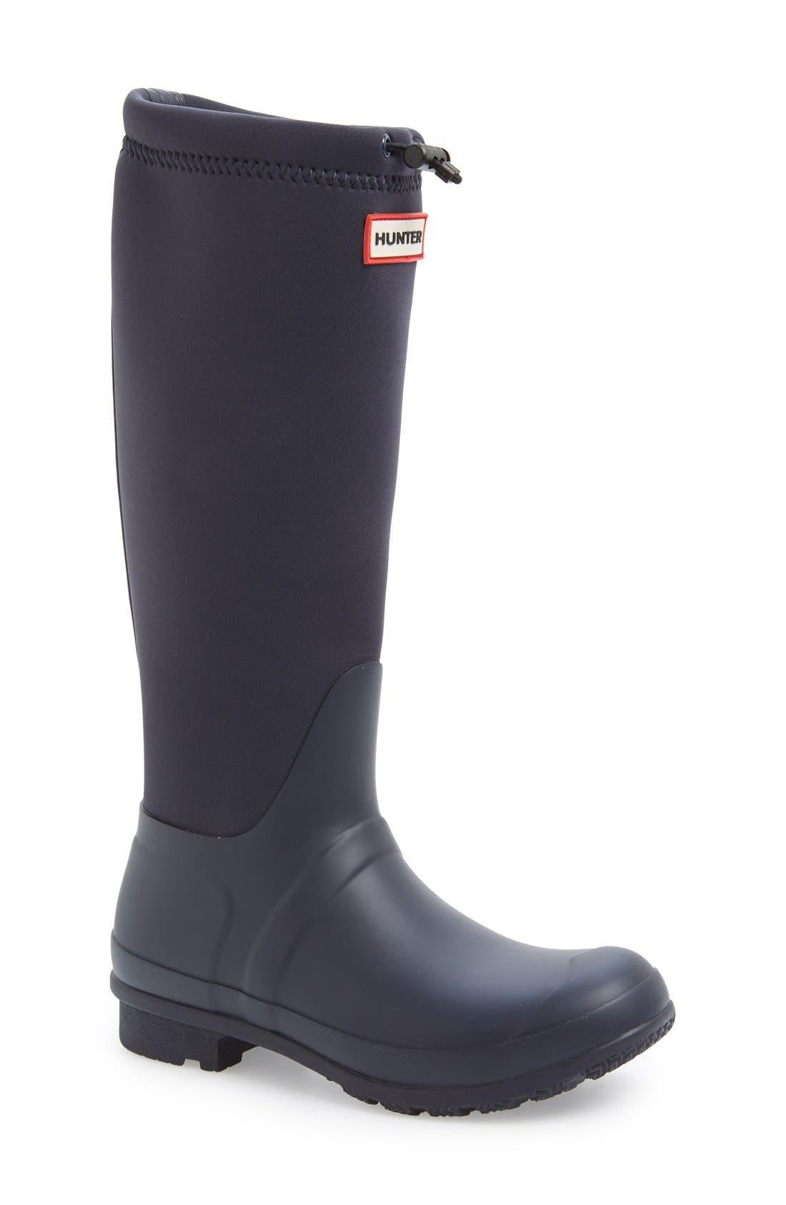 Alternate Image 1 Selected - Hunter 'Original Tour' Neoprene Waterproof Boot (Women)