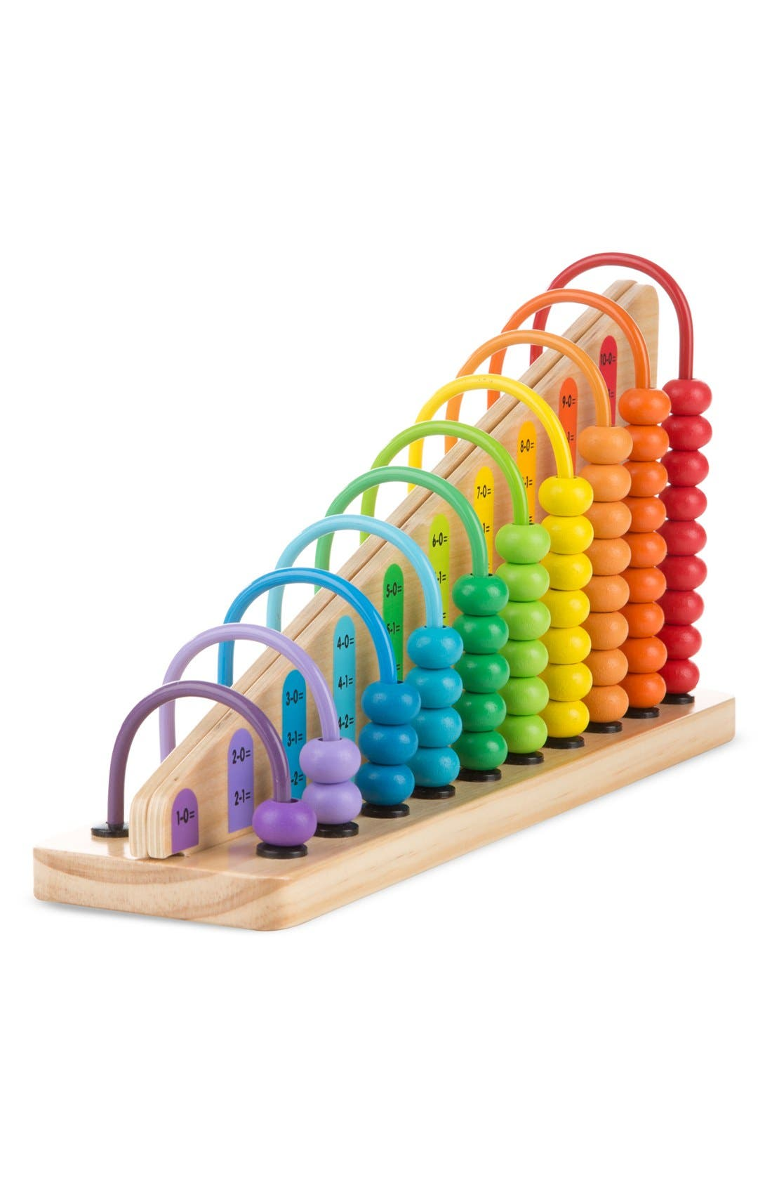 Add and Subtract Abacus,                         Main,                         color, Brown
