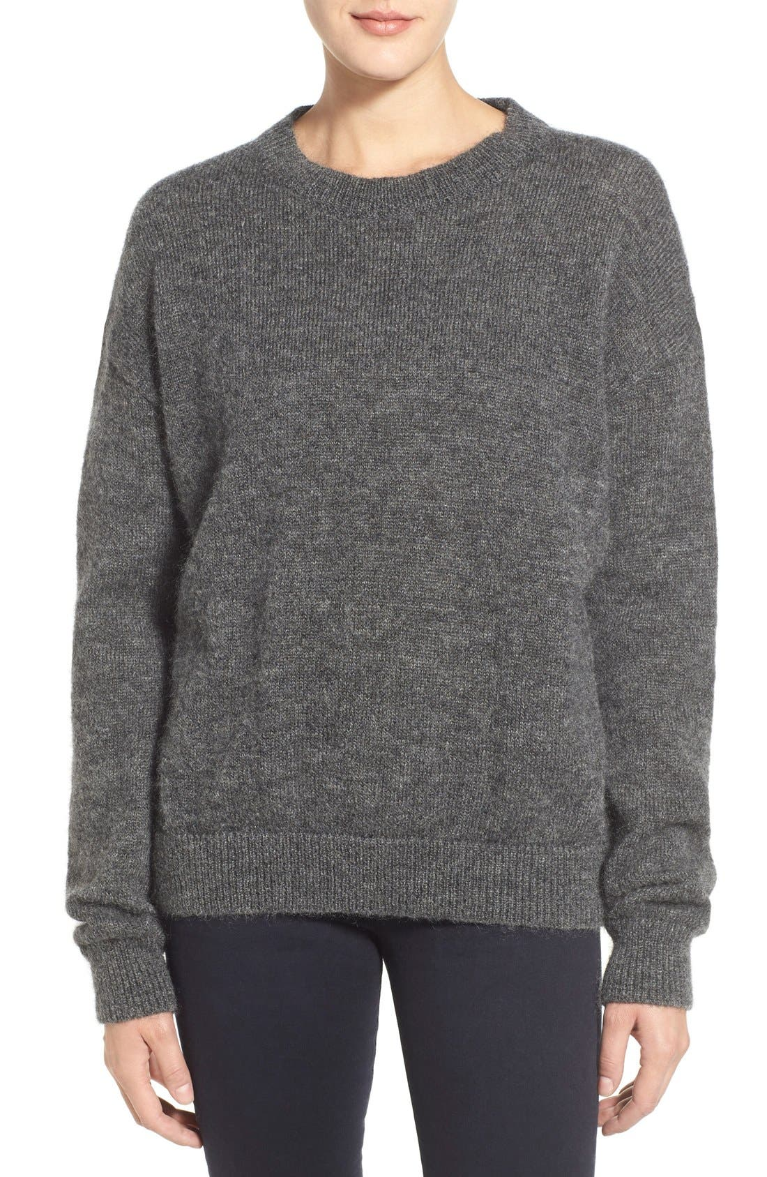 Alternate Image 1 Selected - M.i.h. Jeans 'Delo' Mohair Blend Crewneck Sweater