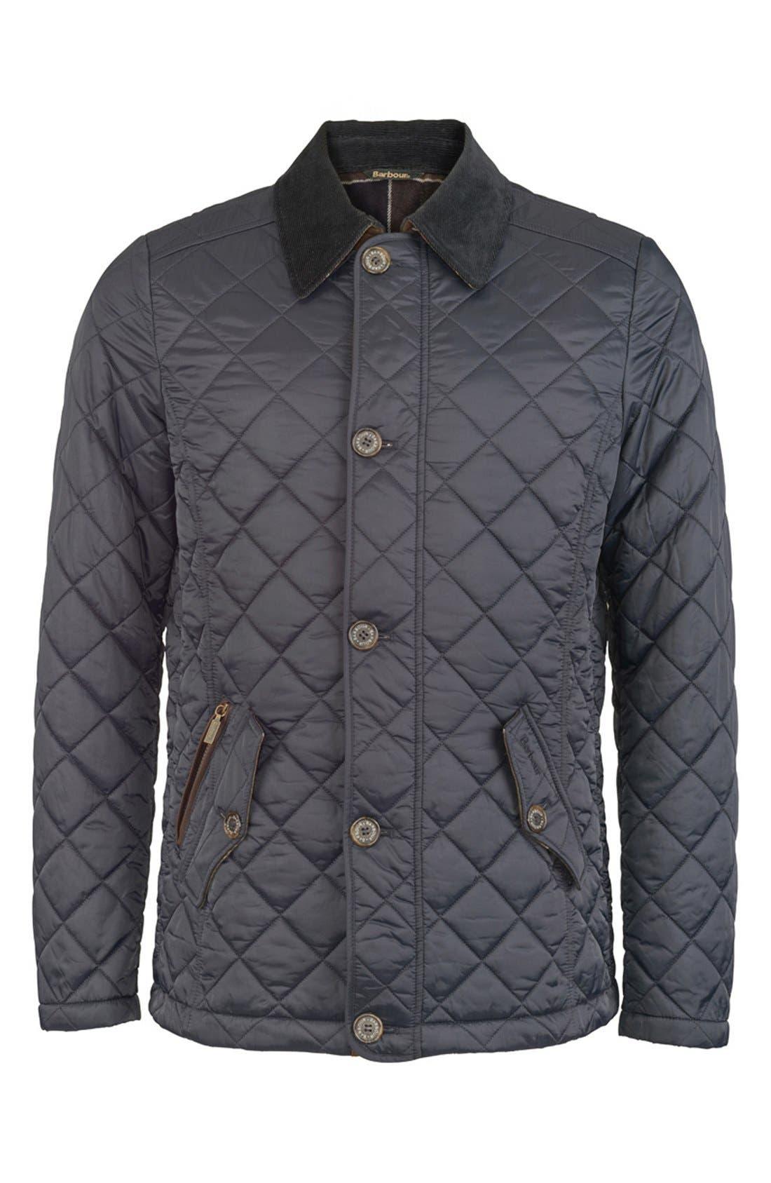 Alternate Image 7  - Barbour 'Fortnum' Regular Fit Quilted Jacket