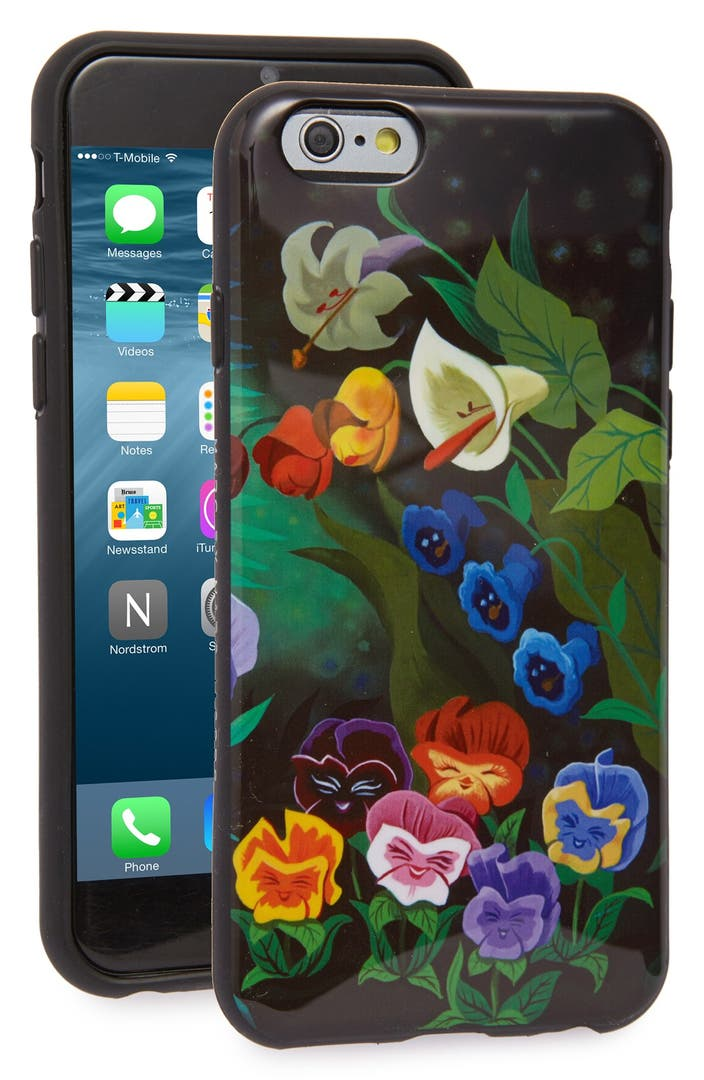 marc by marc jacobs x disney 39 alice in wonderland garden 39 iphone 6 6s case nordstrom. Black Bedroom Furniture Sets. Home Design Ideas