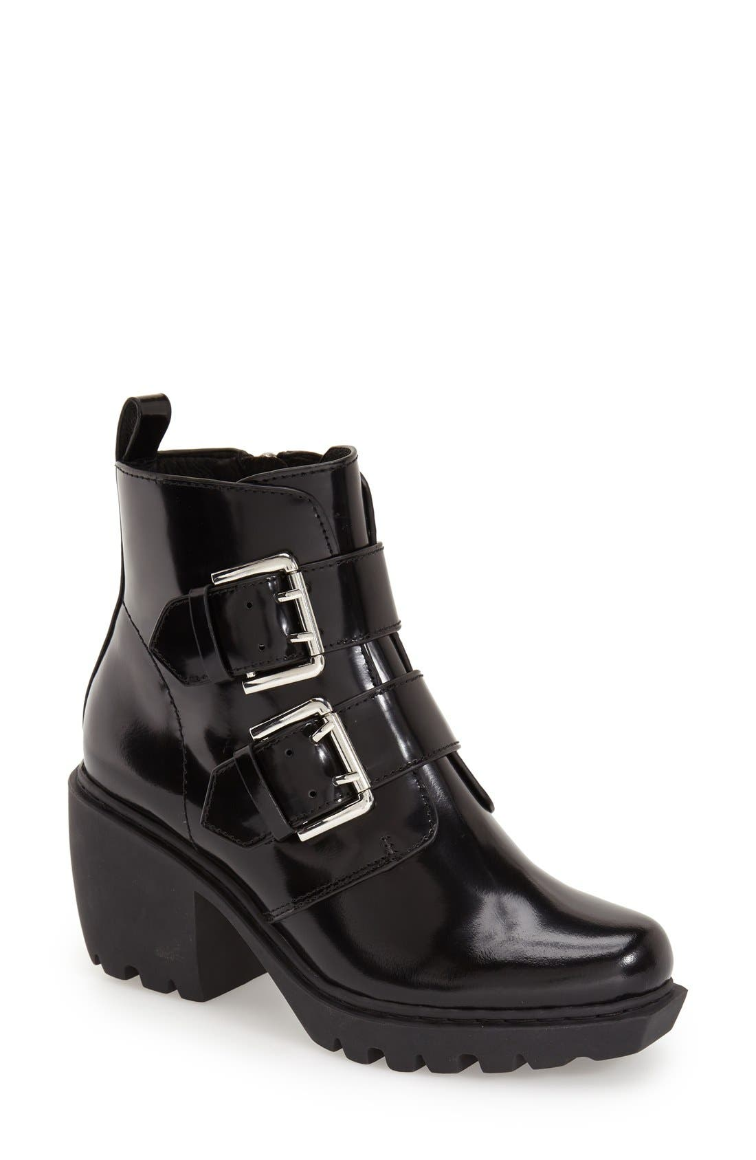 Alternate Image 1 Selected - Opening Ceremony 'Grunge' Double Buckle Bootie