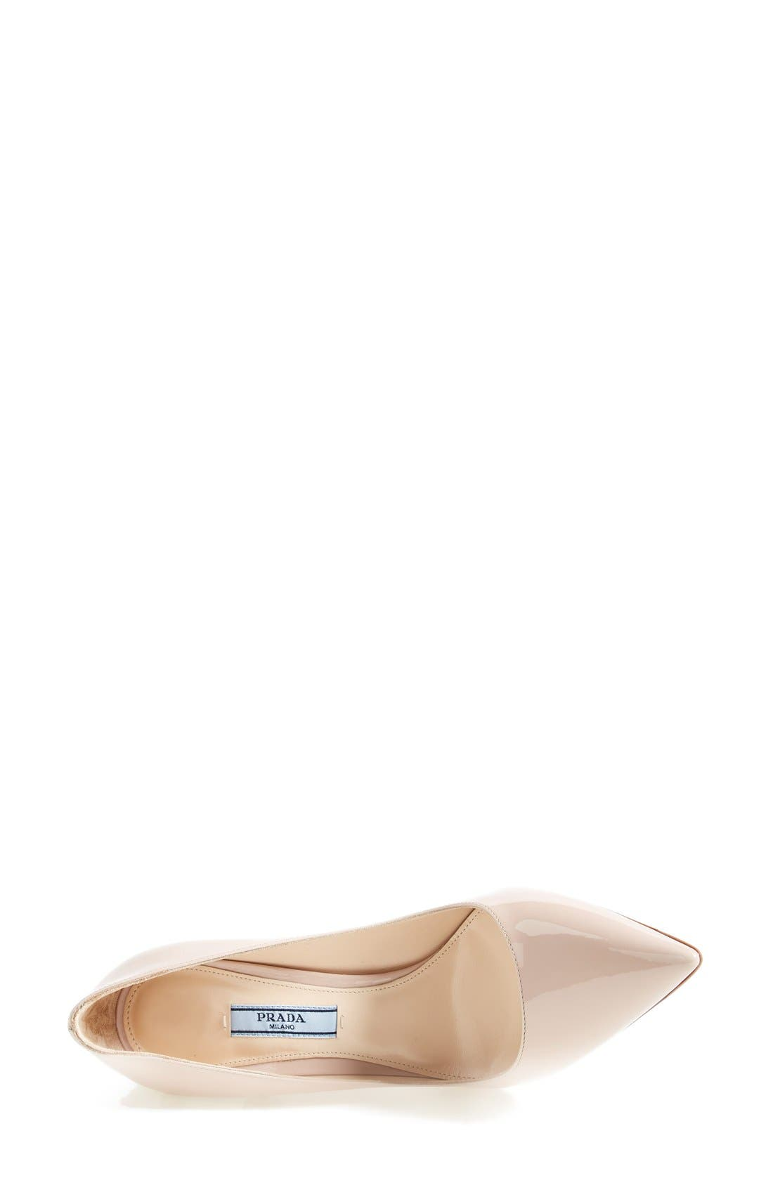 Pointy Toe Pump,                             Alternate thumbnail 3, color,                             Cipria Patent