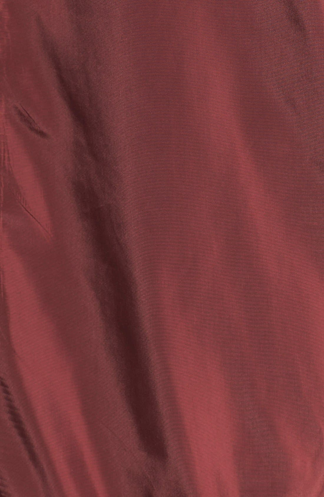 Bomber Jacket,                             Alternate thumbnail 5, color,                             Oxblood