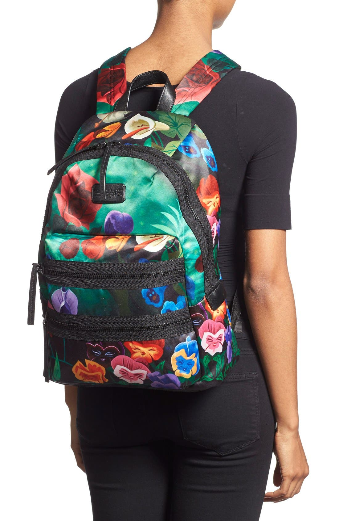Alternate Image 2  - MARC BY MARC JACOBS x Disney® 'Alice in Wonderland - Domo Arigato Packrat' Backpack