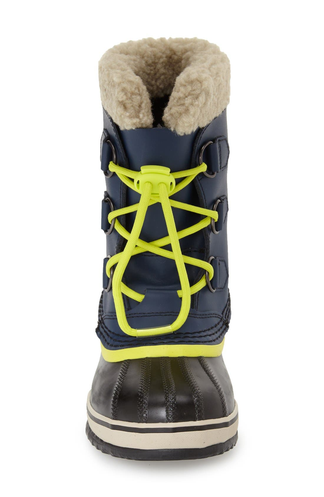 'Yoot Pac' Waterproof Snow Boot,                             Alternate thumbnail 3, color,                             Nocturnal