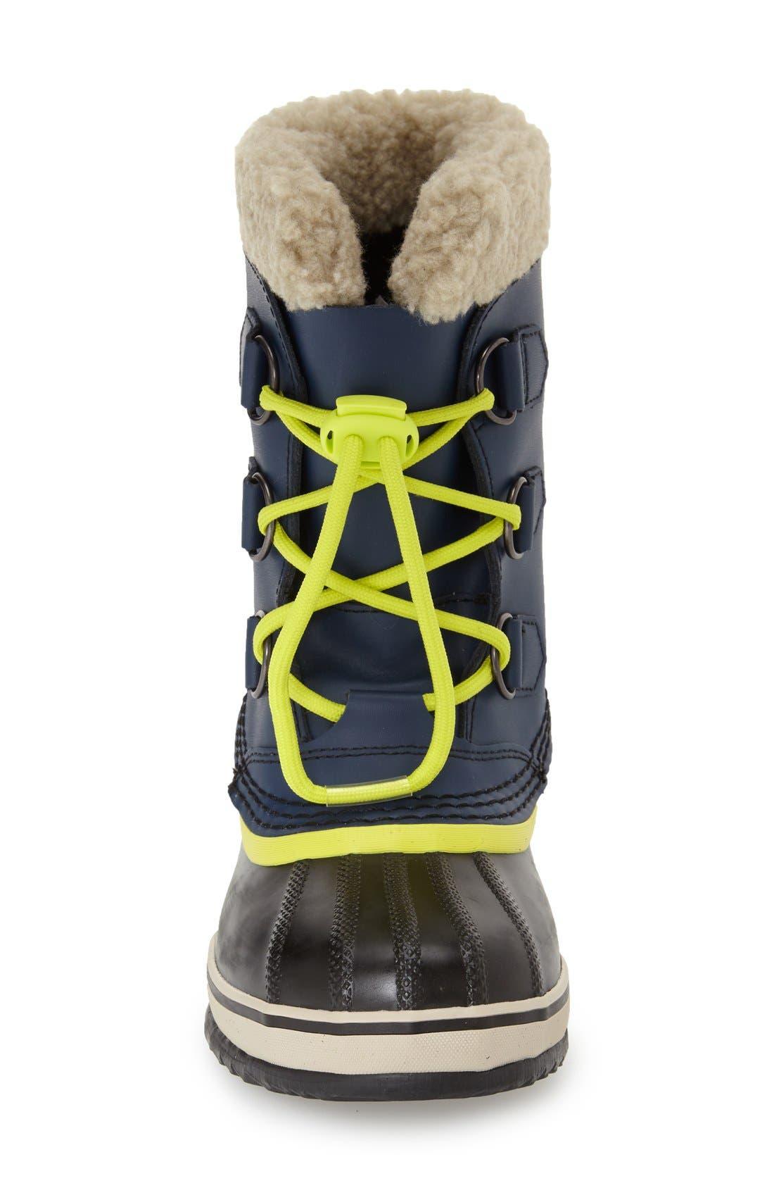Alternate Image 3  - SOREL 'Yoot Pac' Waterproof Snow Boot (Toddler, Little Kid & Big Kid)