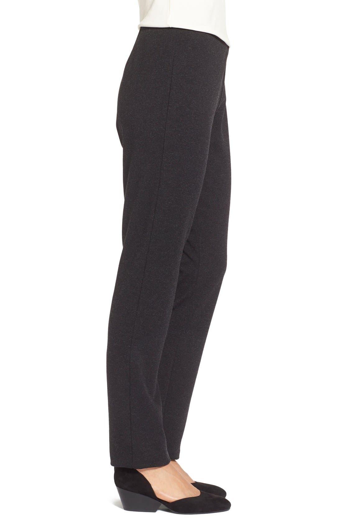 Alternate Image 3  - Eileen Fisher Skinny Ponte Pants (Regular & Petite)