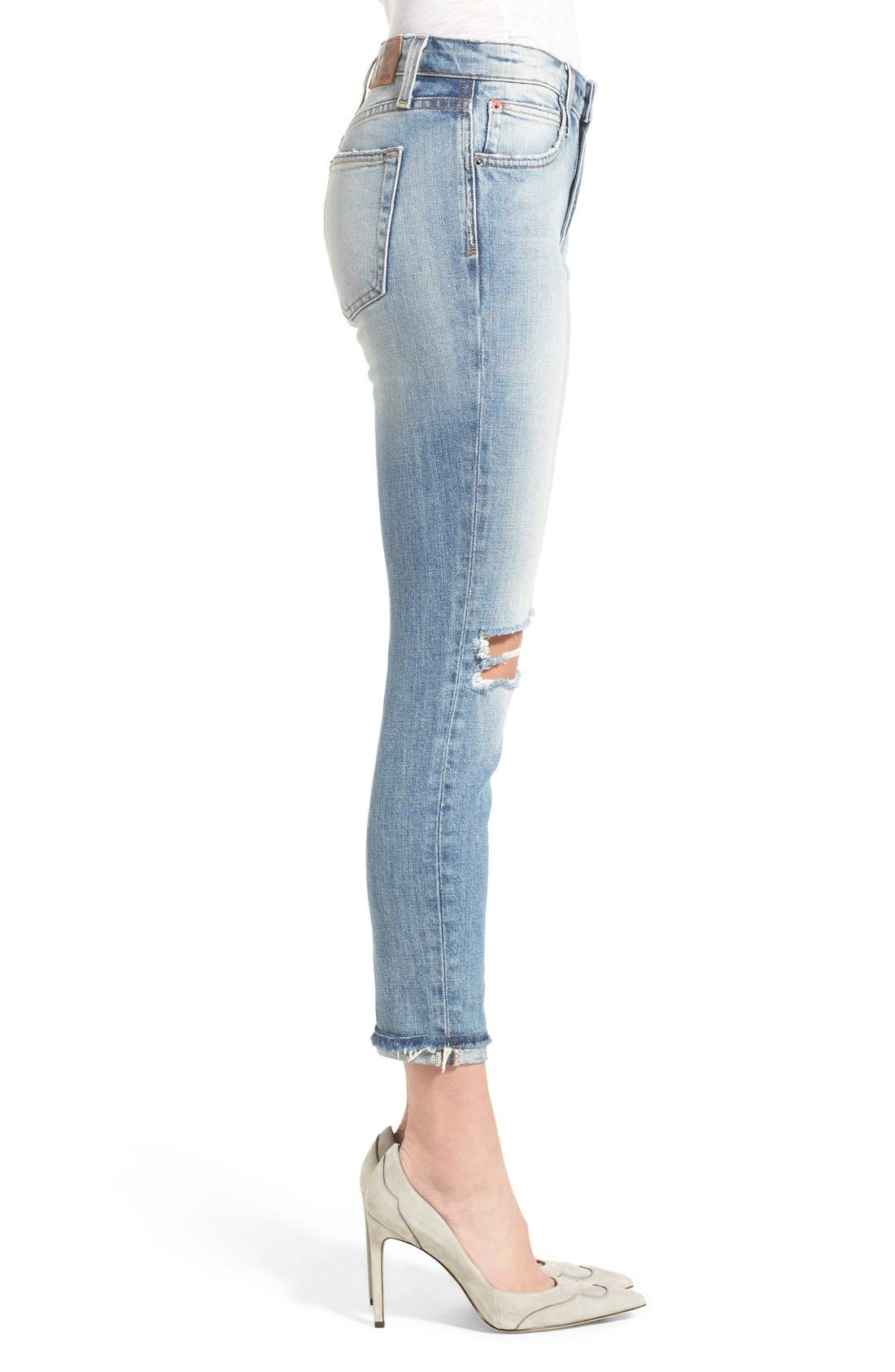 Alternate Image 3  - Joe's 'Collector's - Billie' Ankle Slim Boyfriend Jeans (Blakely)