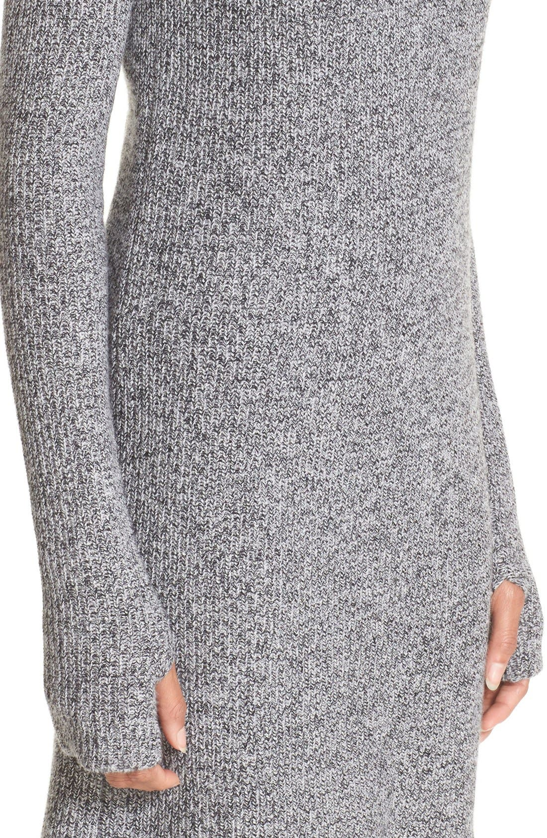 Alternate Image 4  - Current/Elliott 'The Easy Sweater' Wool & Cashmere Sweater Dress