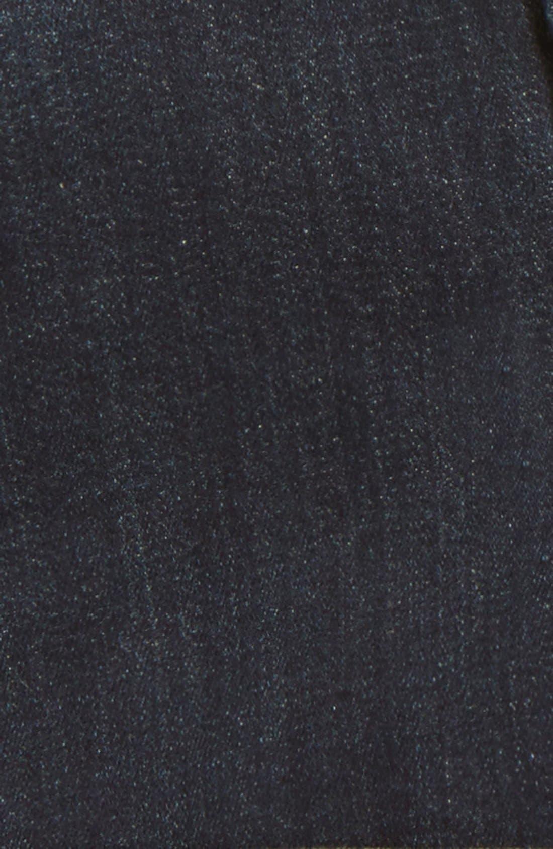 Roll Cuff Denim Shorts,                             Alternate thumbnail 3, color,                             Pressed Rinse