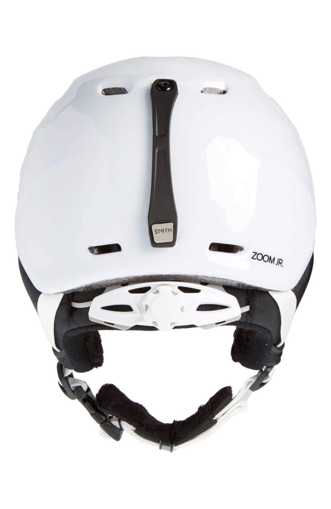 Alternate Image 2  - Smith 'Zoom Jr.' Snow Helmet (Juniors)