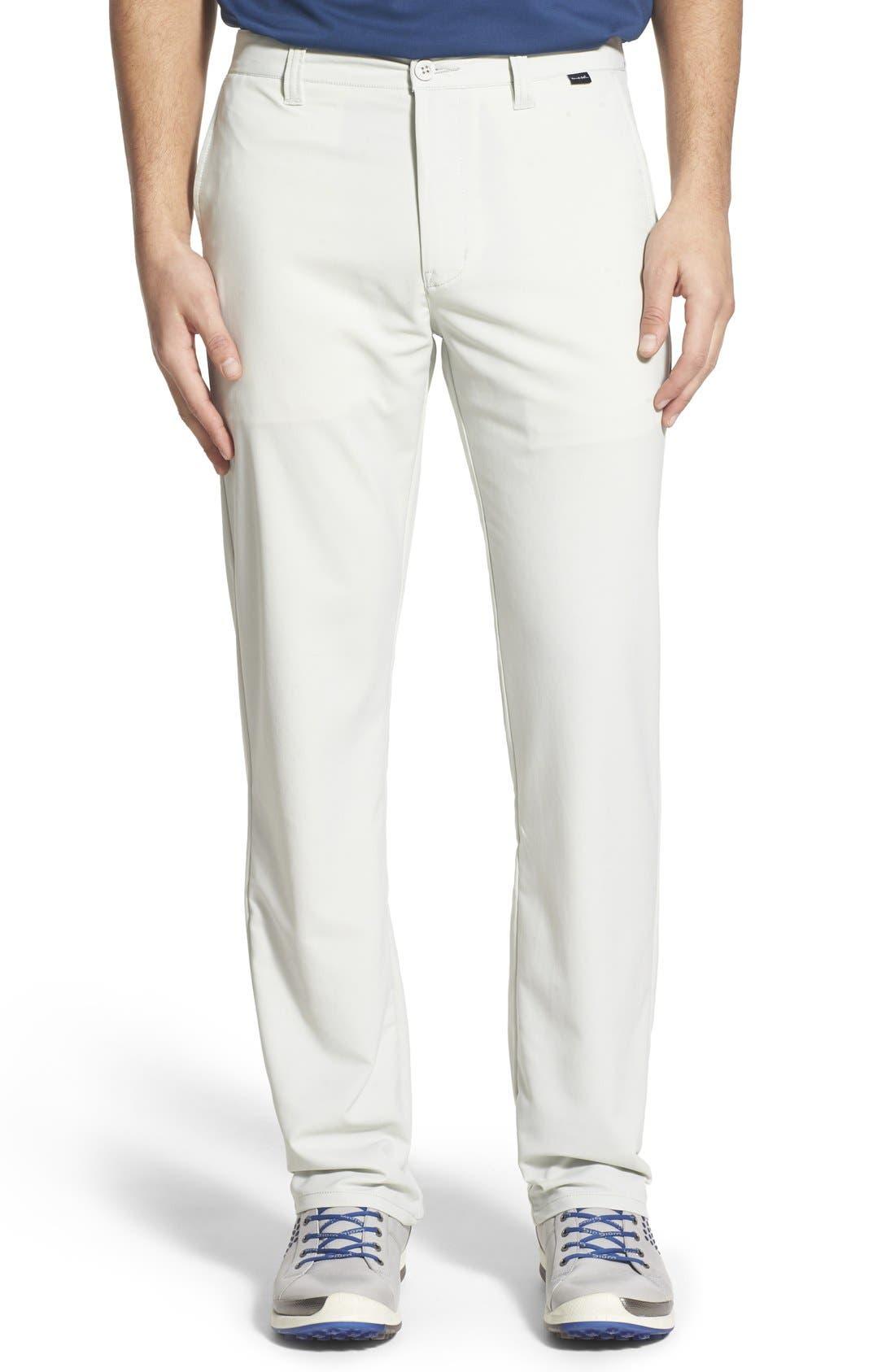 'Hough' Trim Fit Golf Pants,                         Main,                         color, Dawn Blue/ Grey