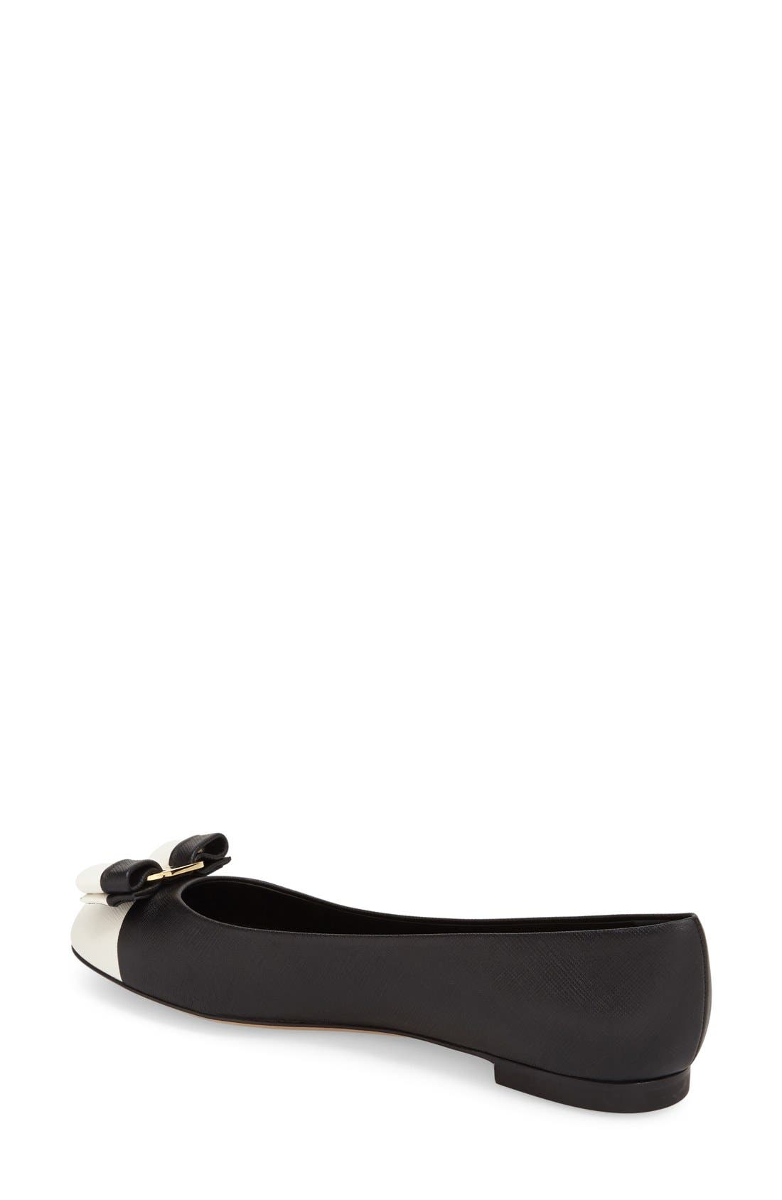 Alternate Image 2  - Salvatore Ferragamo 'Varina' Flat (Women)