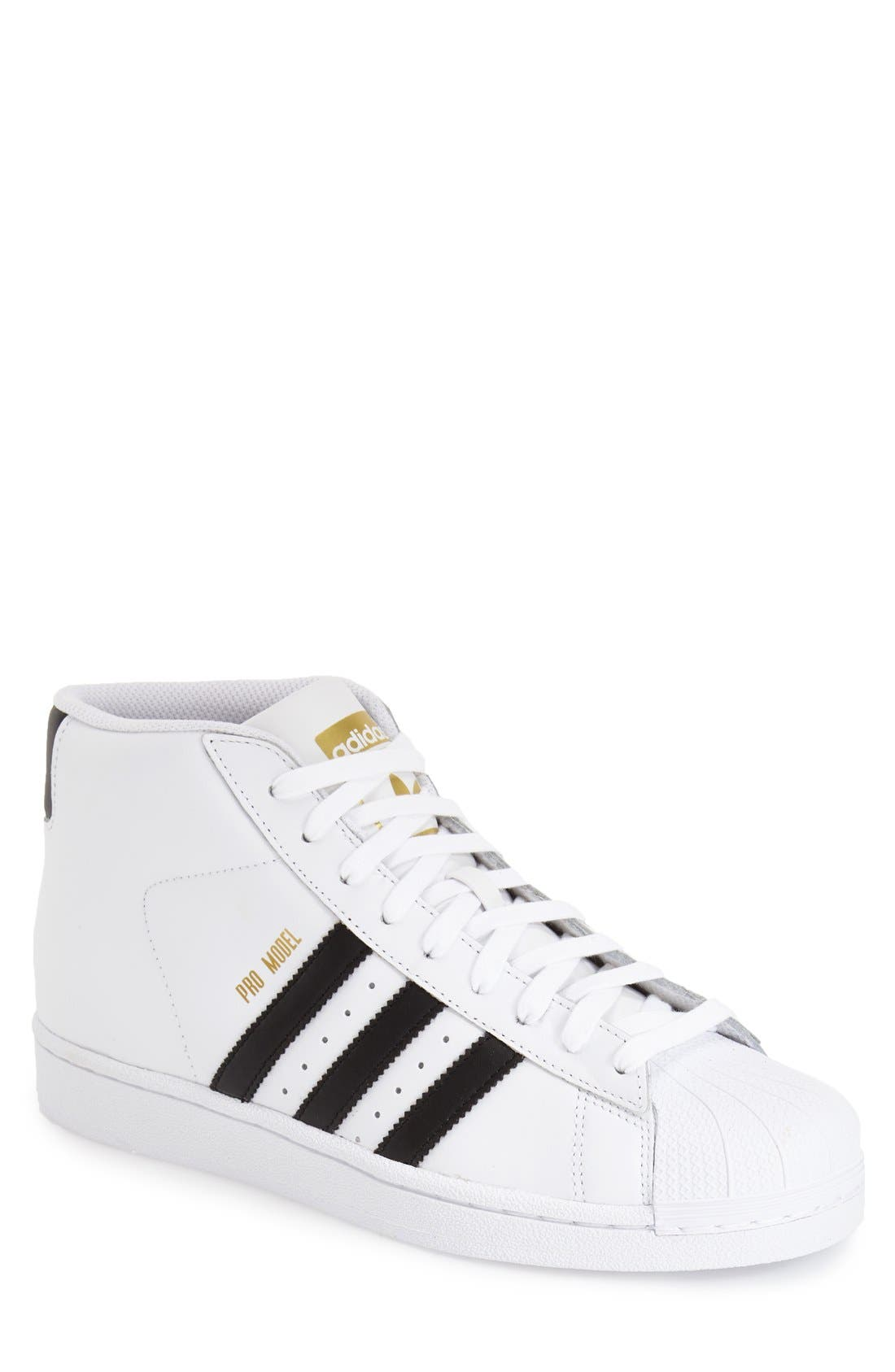 Main Image - adidas 'Pro Model' High Top Sneaker ...