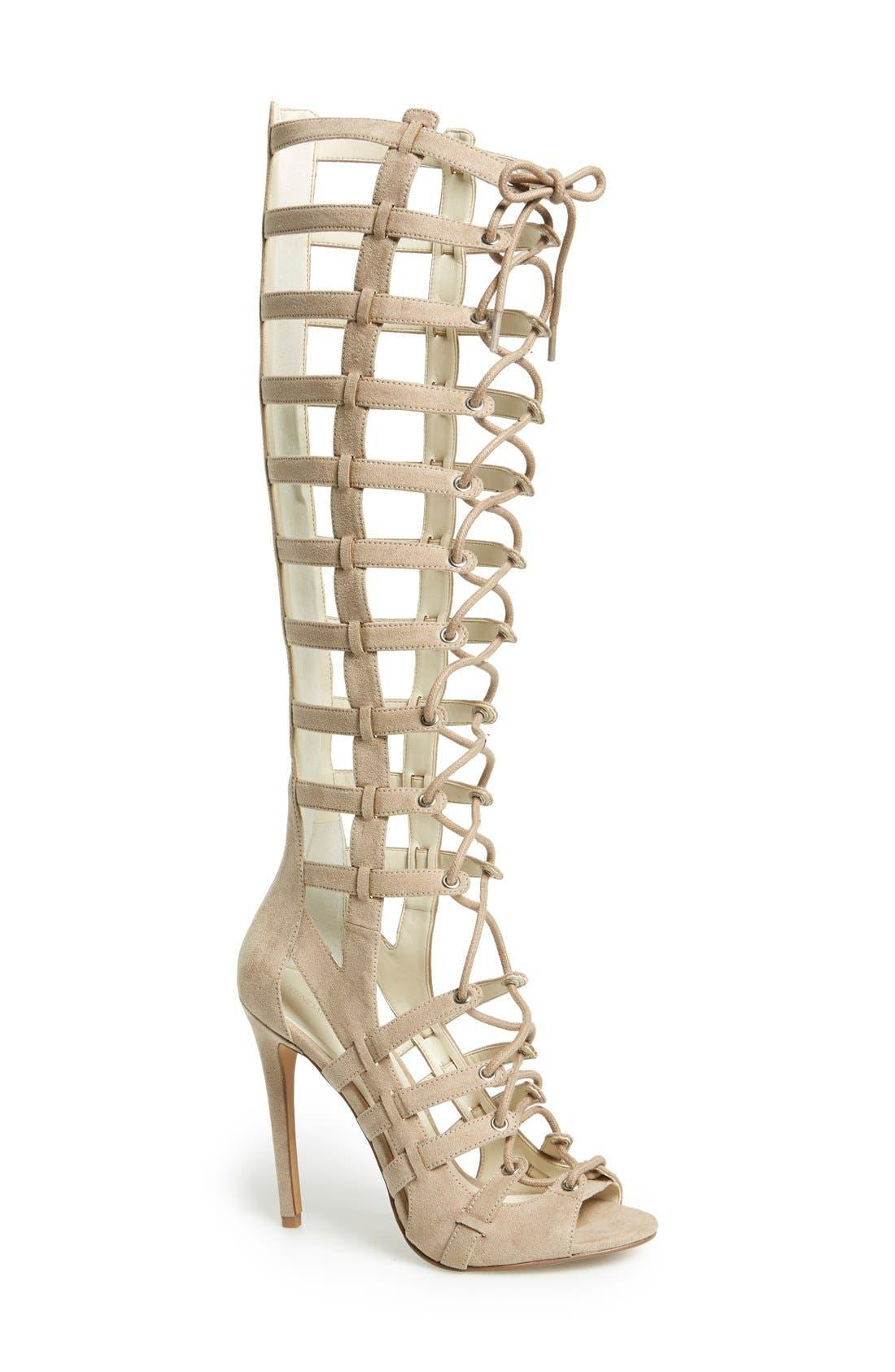 Alternate Image 1 Selected - KENDALL + KYLIE 'Emily' Tall Gladiator Sandal (Women)
