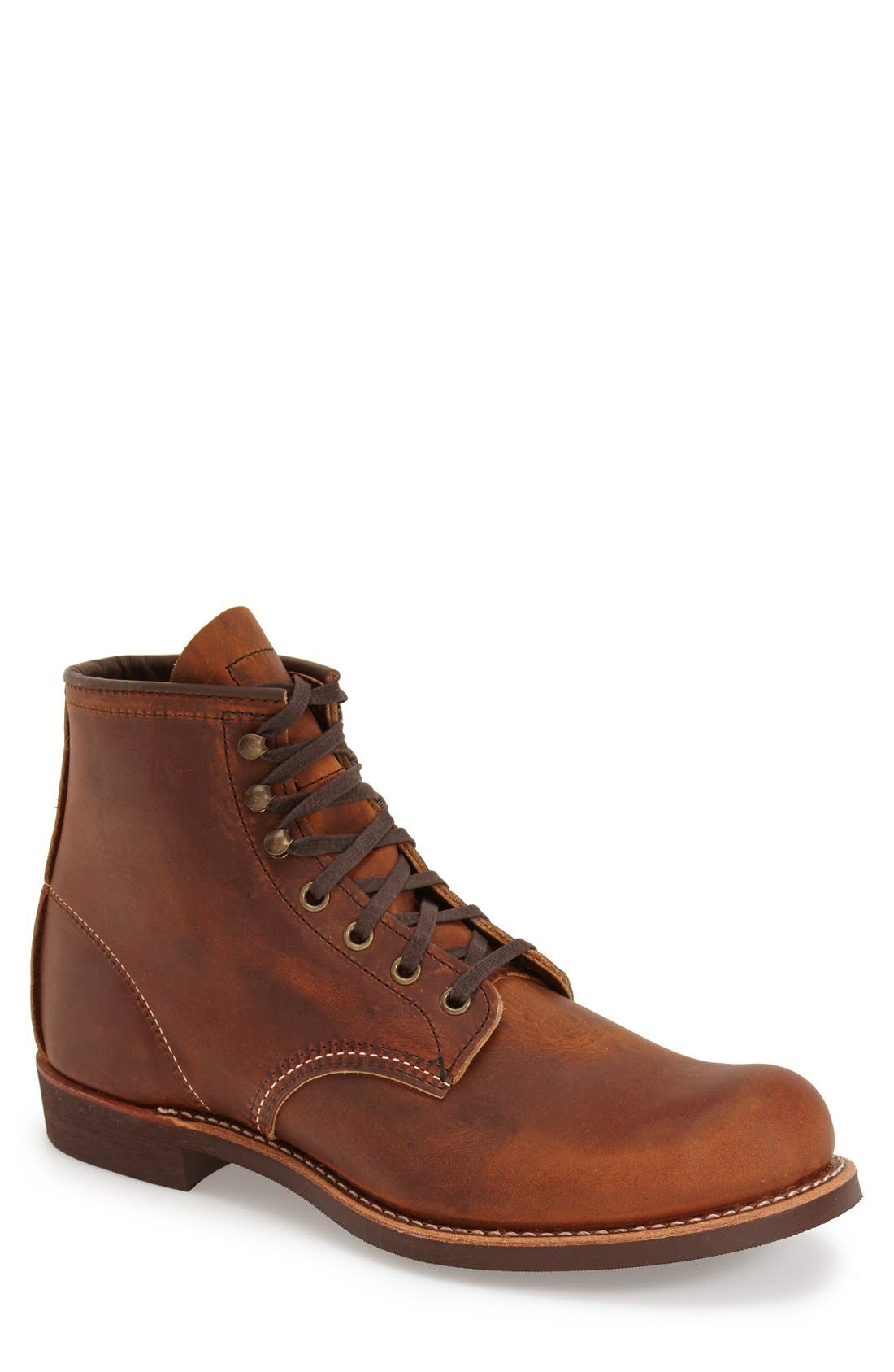 Blacksmith Boot,                         Main,                         color, Copper Leather