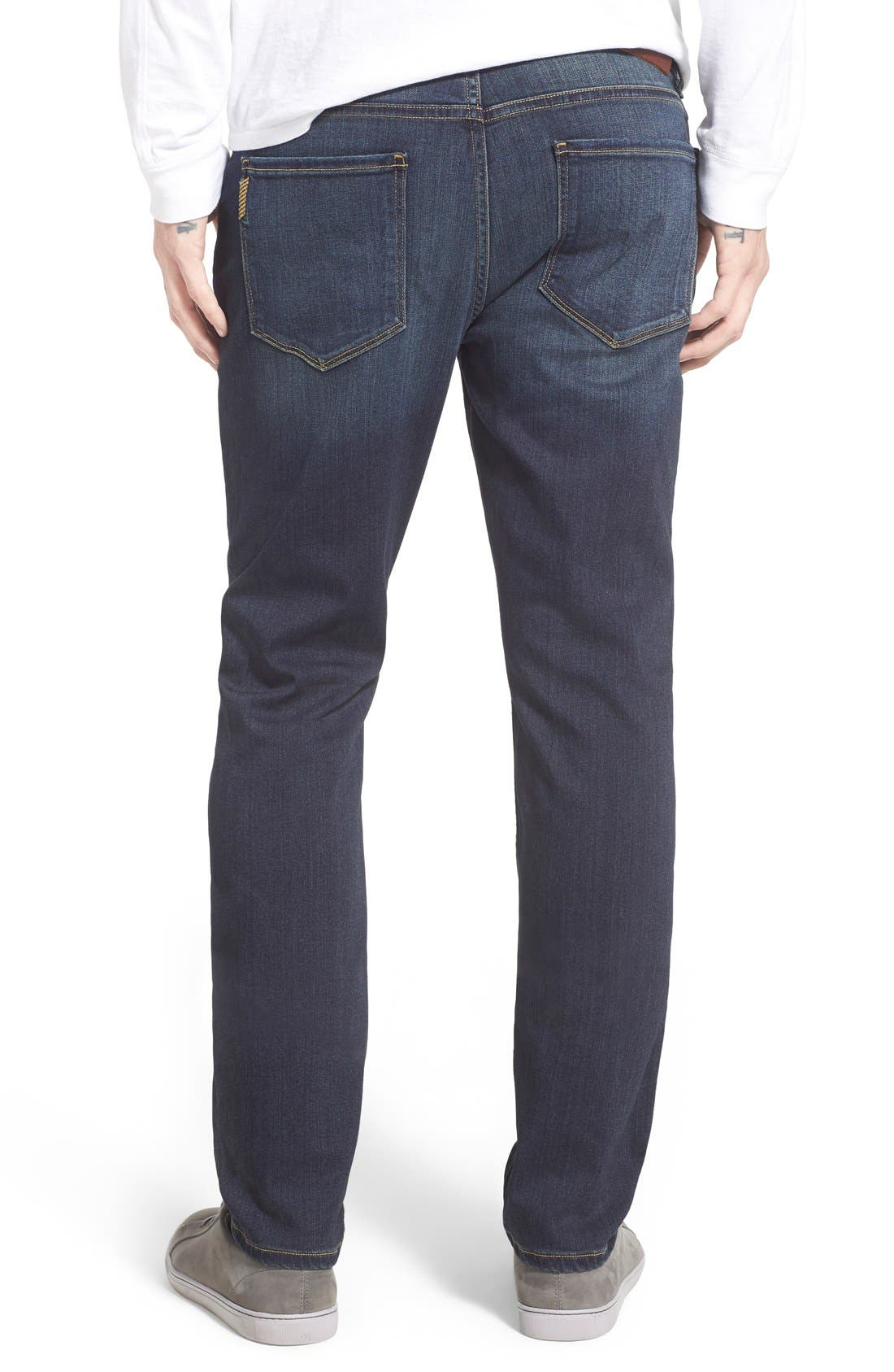 Lennox Slim Fit Jeans,                             Alternate thumbnail 2, color,                             Rigby