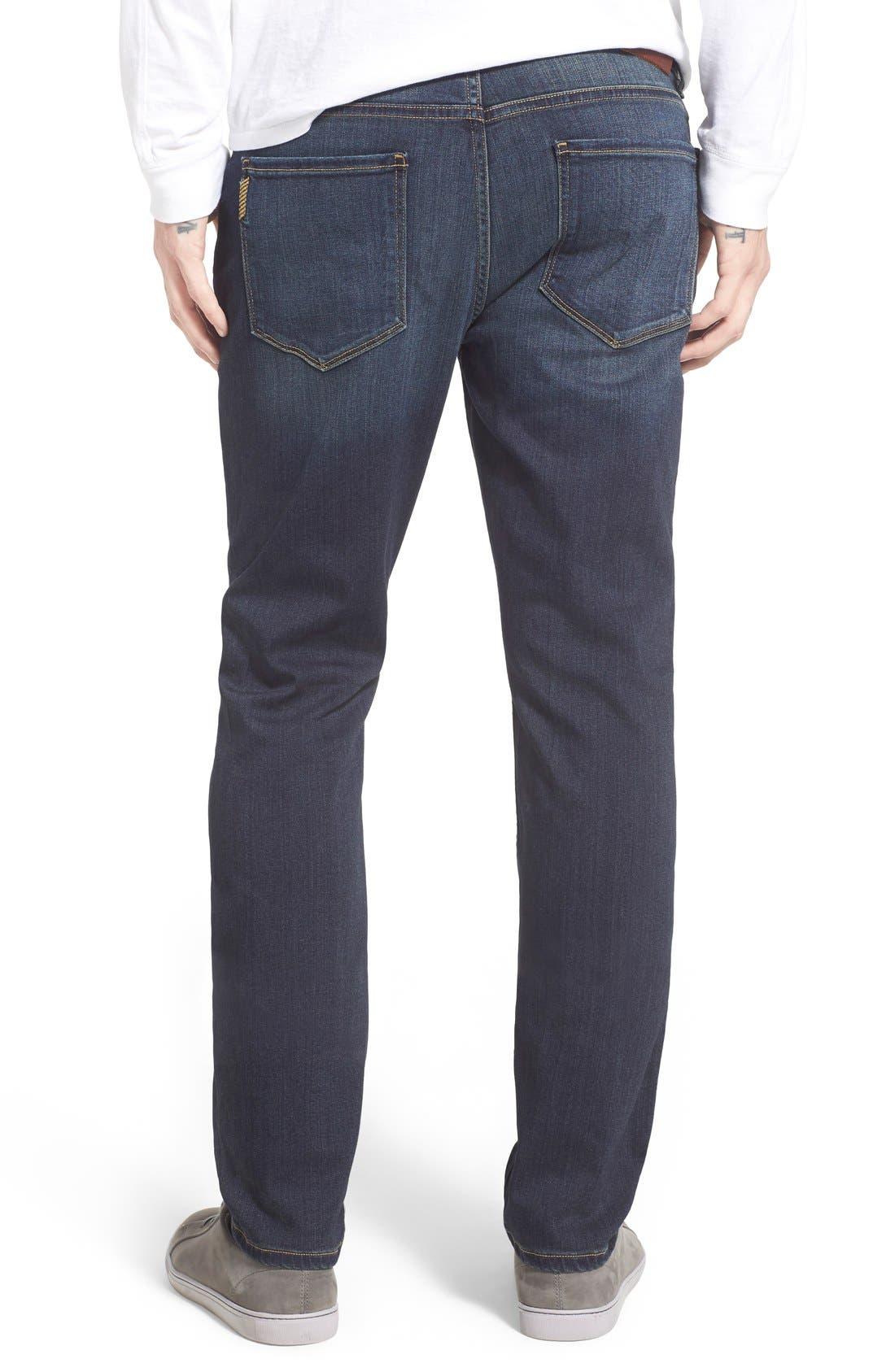 Alternate Image 2  - PAIGE Lennox Slim Fit Jeans (Rigby)