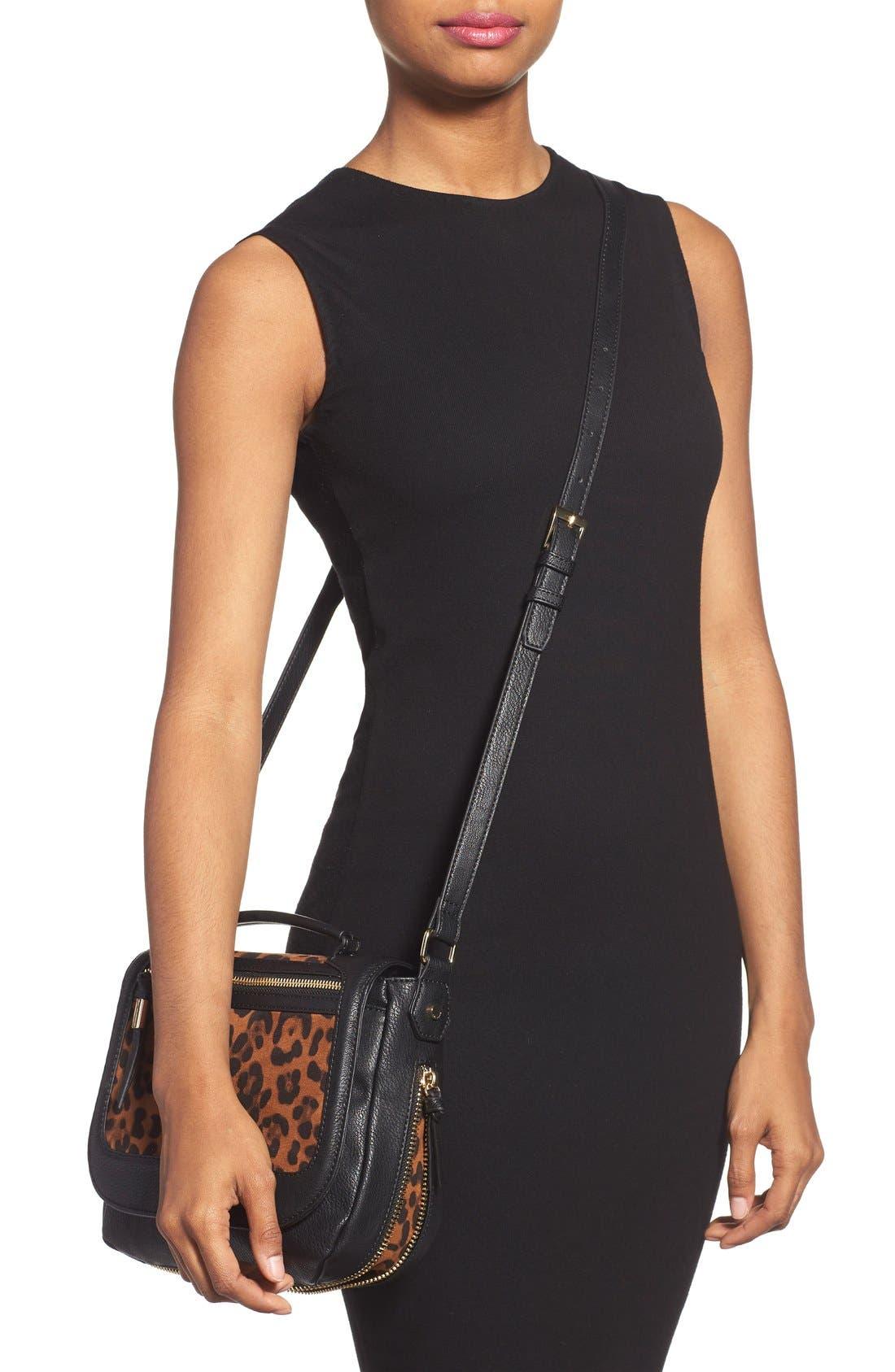 Alternate Image 2  - Big Buddha 'ZJane' Faux Leather Crossbody Flap Bag