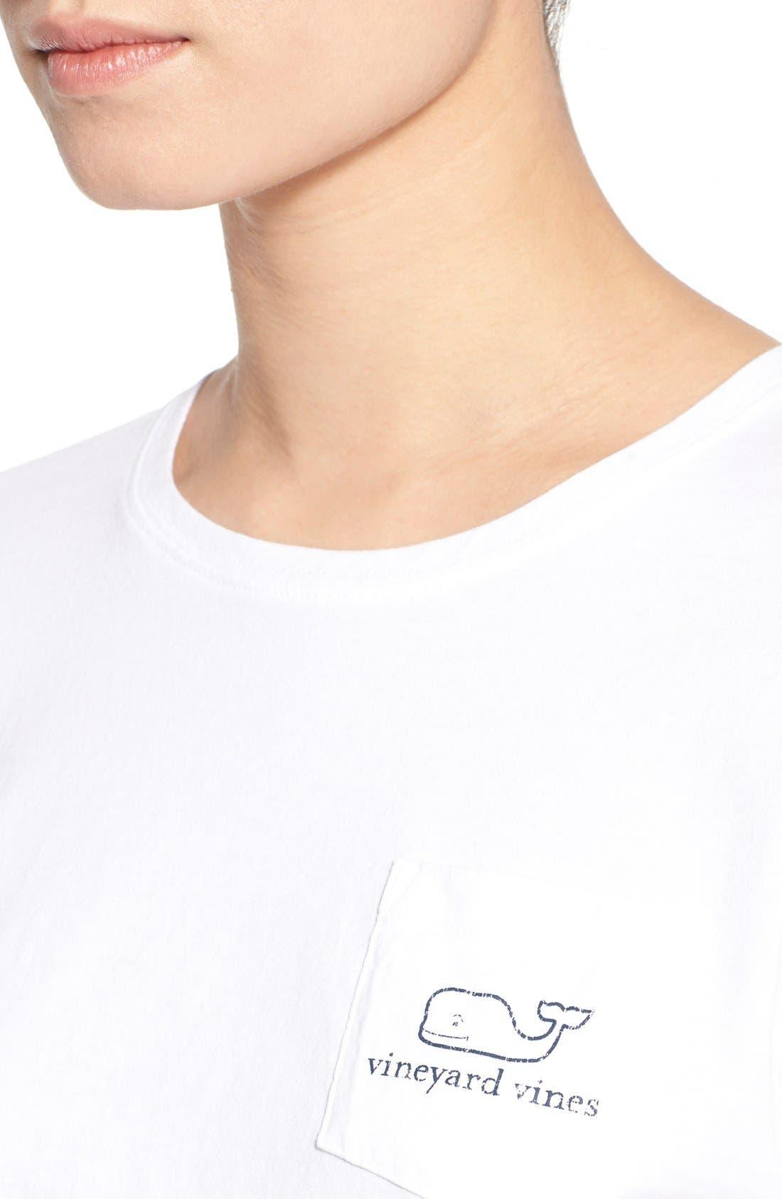 Alternate Image 4  - Vineyard Vines Whale Graphic Short Sleeve Pocket Tee