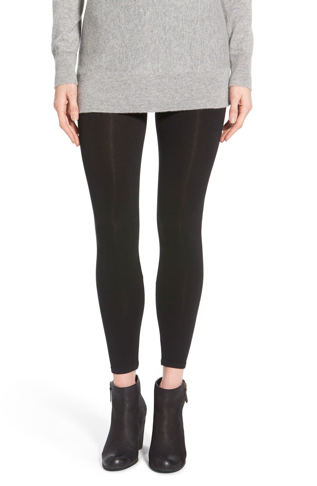 Main Image - SPANX® 'Look-at-Me' Shaping Leggings