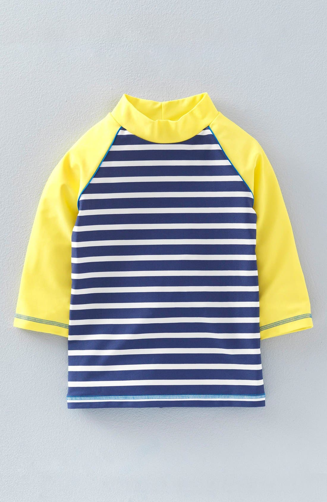 Main Image - Mini Boden Print Rashguard (Toddler Girls, Little Girls & Big Girls)