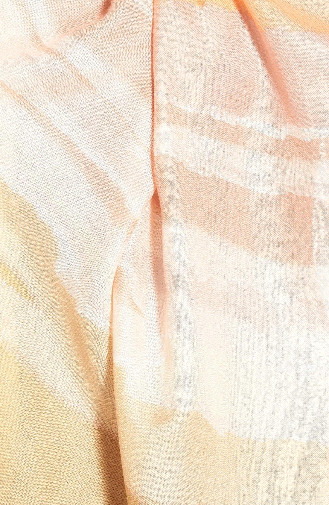 Alternate Image 3  - Nordstrom 'Watercolor Block' Cashmere & Silk Scarf