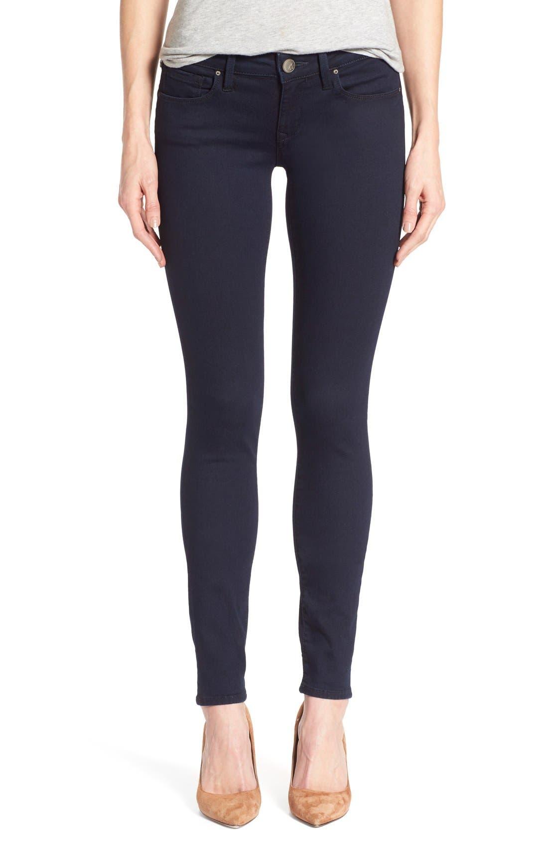 'Serena' Stretch Skinny Jeans,                         Main,                         color, Dark Shanti