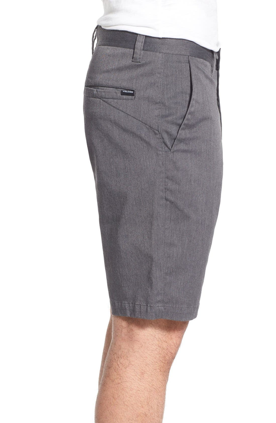'Lightweight' Shorts,                             Alternate thumbnail 3, color,                             Charcoal Heather
