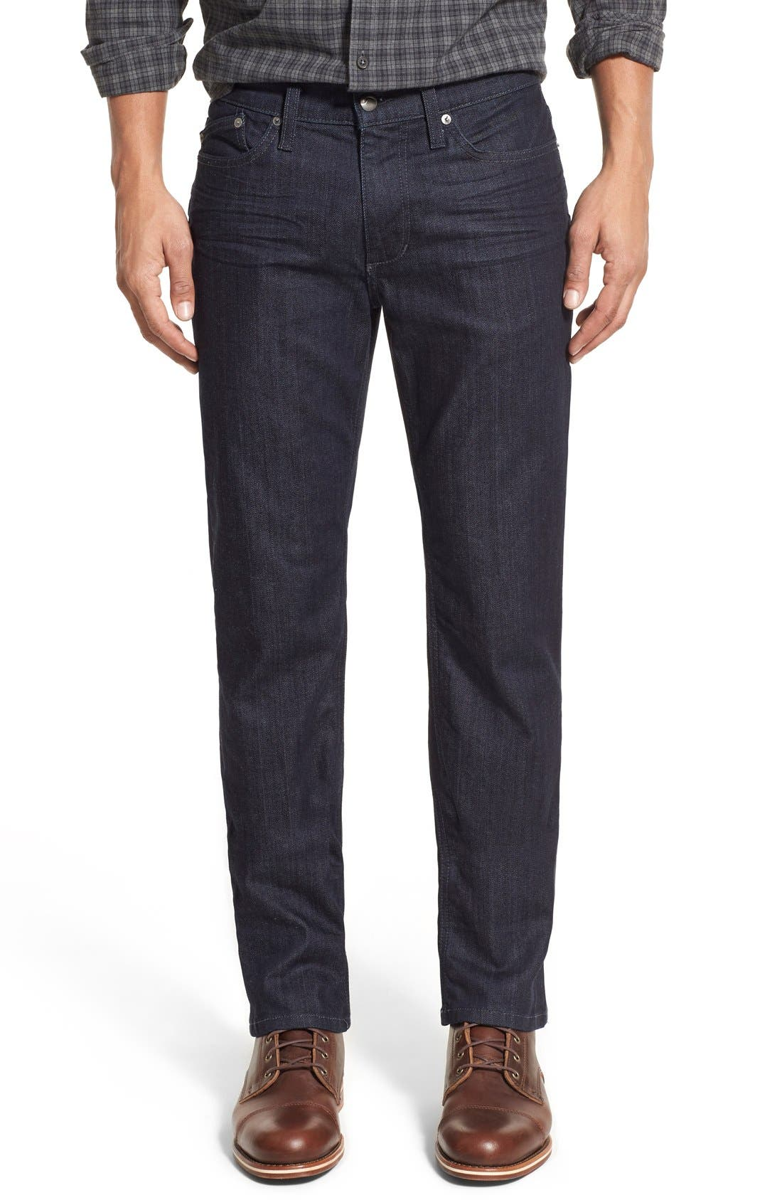 Alternate Image 1 Selected - Joe's Brixton Slim Straight Fit Jeans (King) (Regular & Tall)