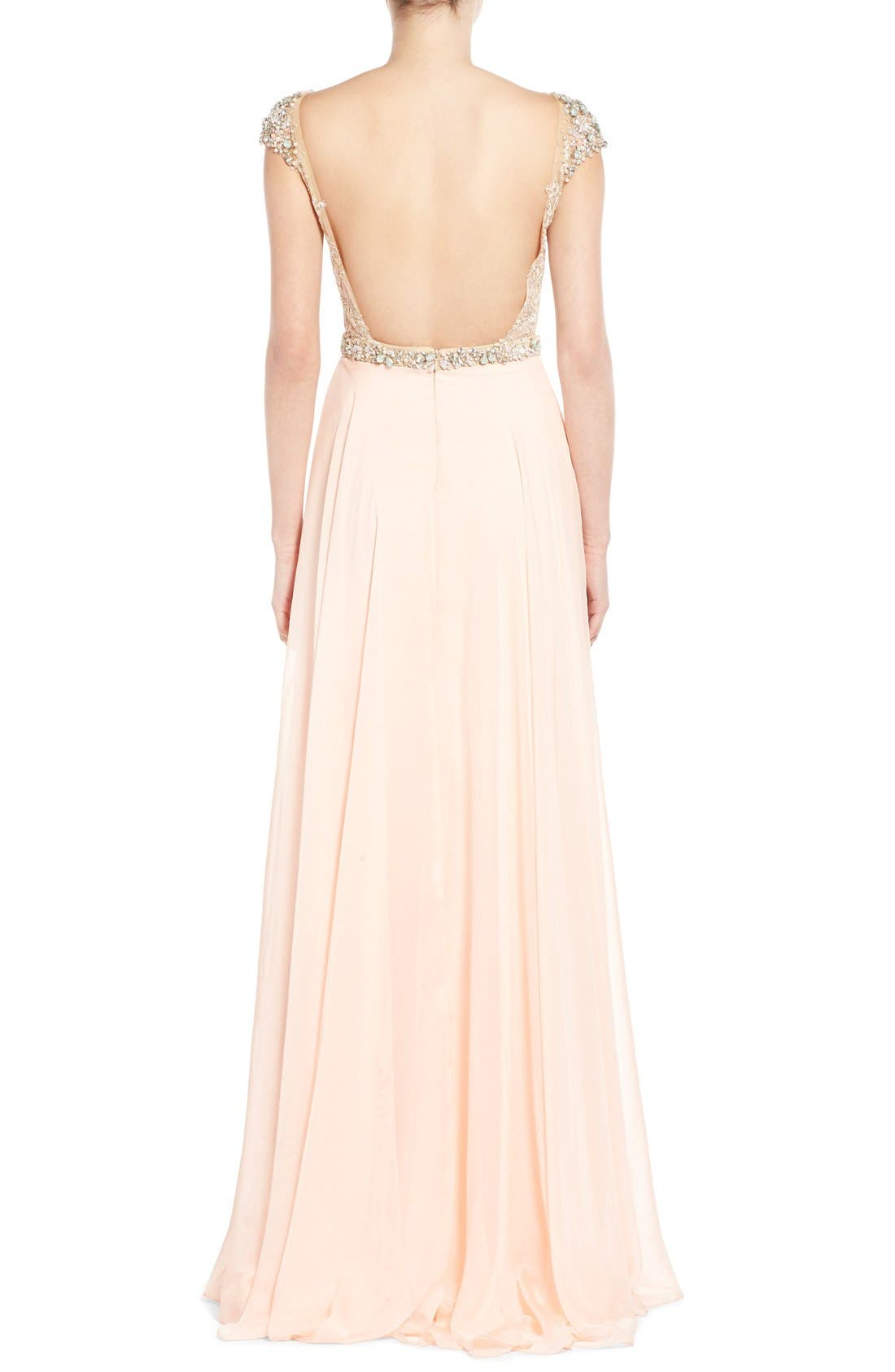 Alternate Image 2  - Mac Duggal 'Gladys' Embellished Gown