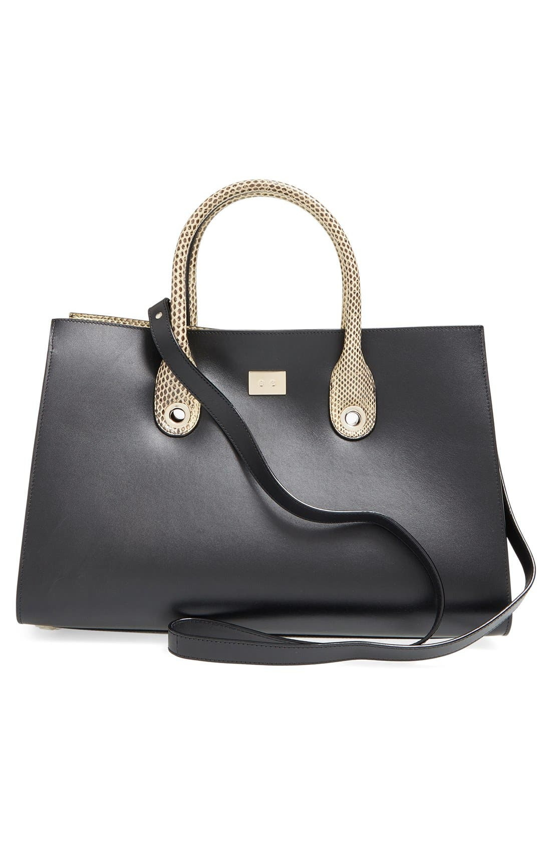 Alternate Image 3  - Jimmy Choo 'Riley' Leather Tote