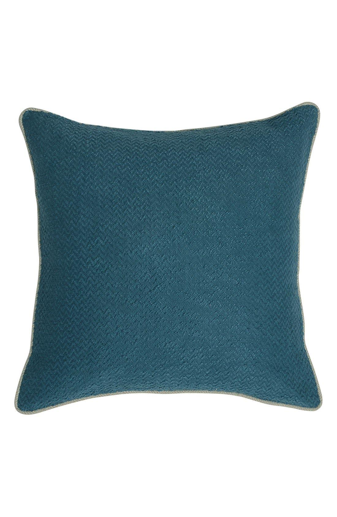 'Razia' Pillow,                         Main,                         color, Marine Blue