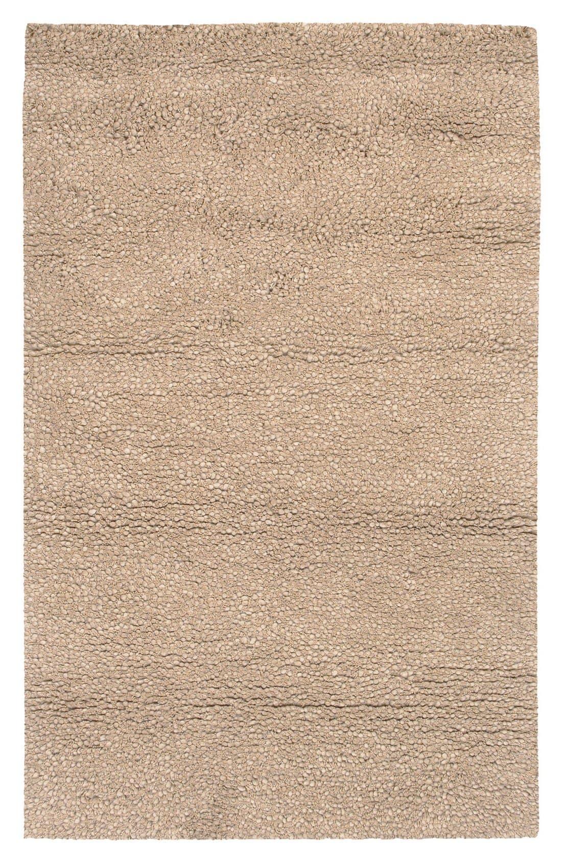 'Metropolitan' Wool Rug,                             Main thumbnail 1, color,                             Beige