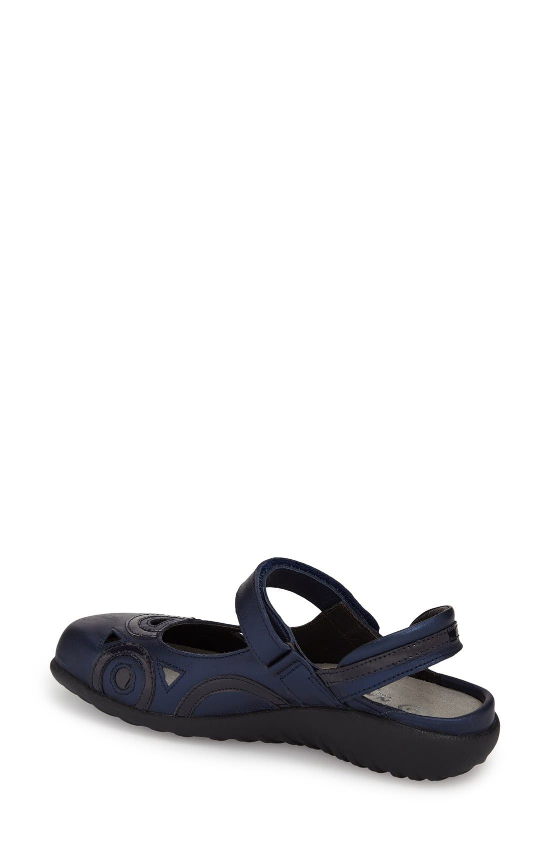 'Rongo' Slip-On,                             Alternate thumbnail 2, color,                             Navy Patent Leather Combo
