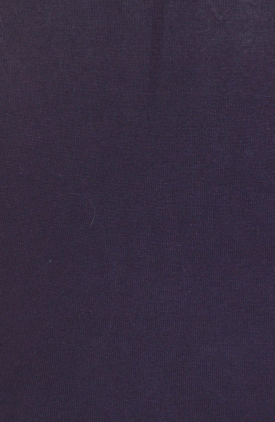 Three Quarter Sleeve Shrug,                             Alternate thumbnail 5, color,                             Navy