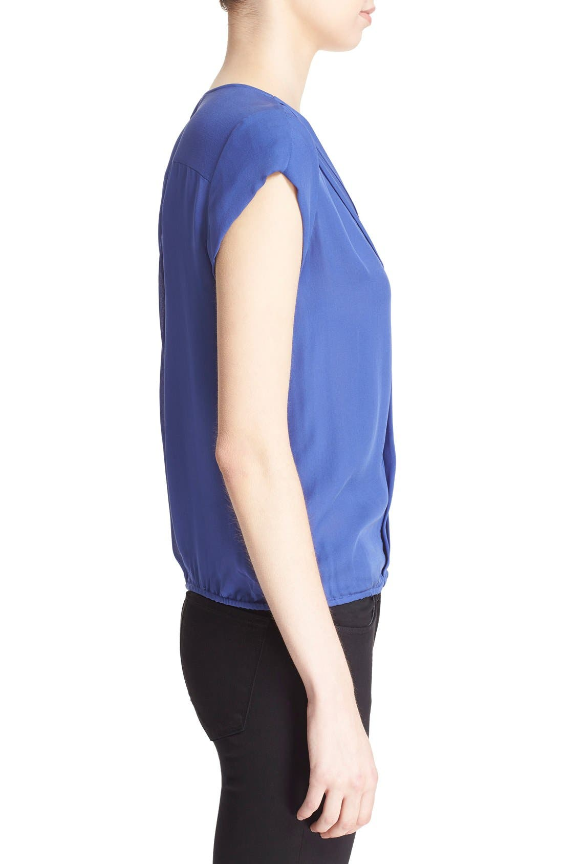 Alternate Image 3  - Joie 'Marcher' Pleated Silk Top