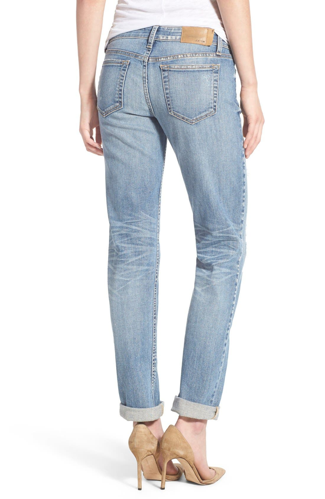 'Collector's - Ex Lover' Straight Leg Jeans,                             Alternate thumbnail 3, color,                             Bev