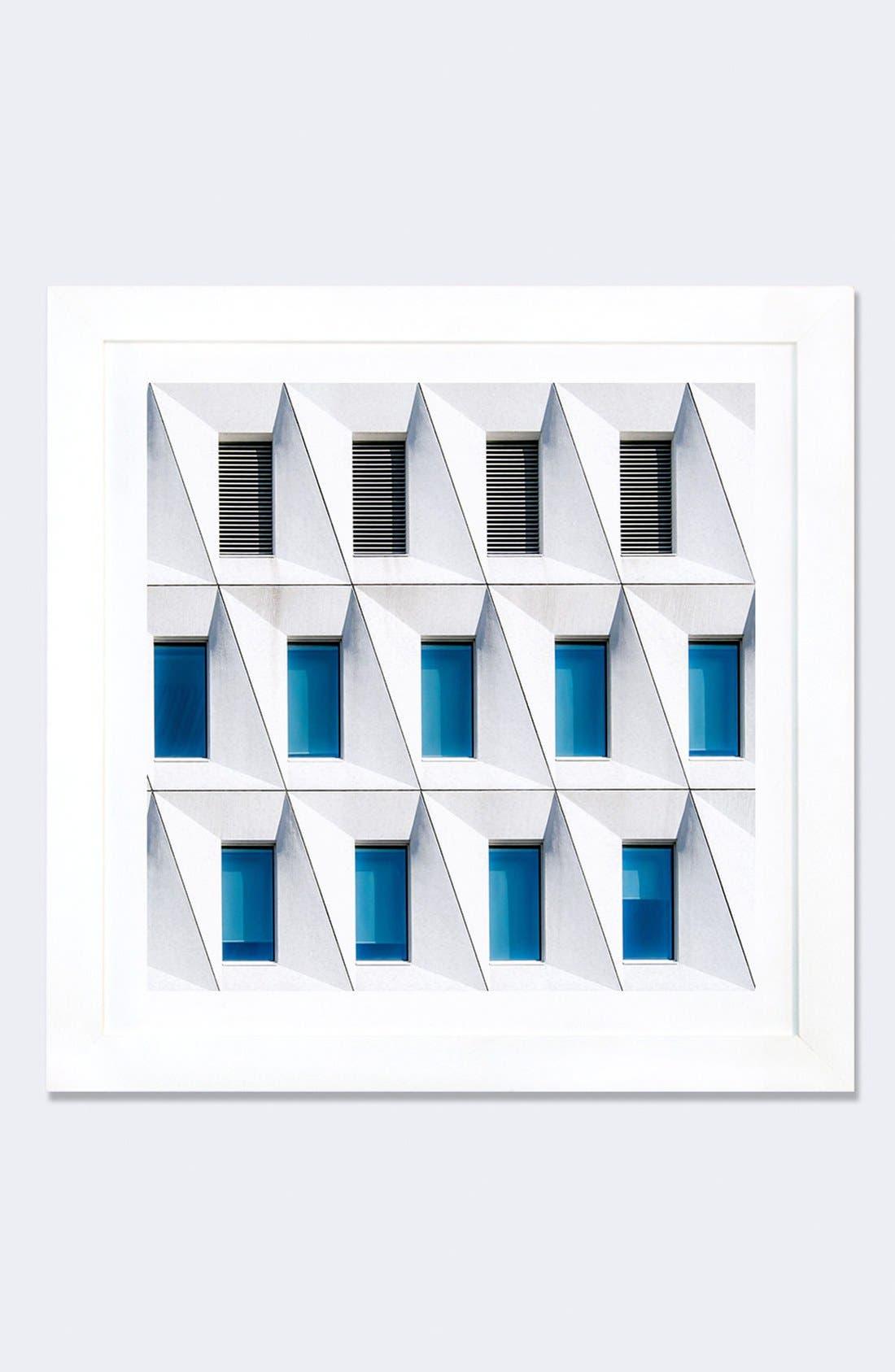 Alternate Image 1 Selected - iCanvas 'Backslashed' Framed Fine Art Print